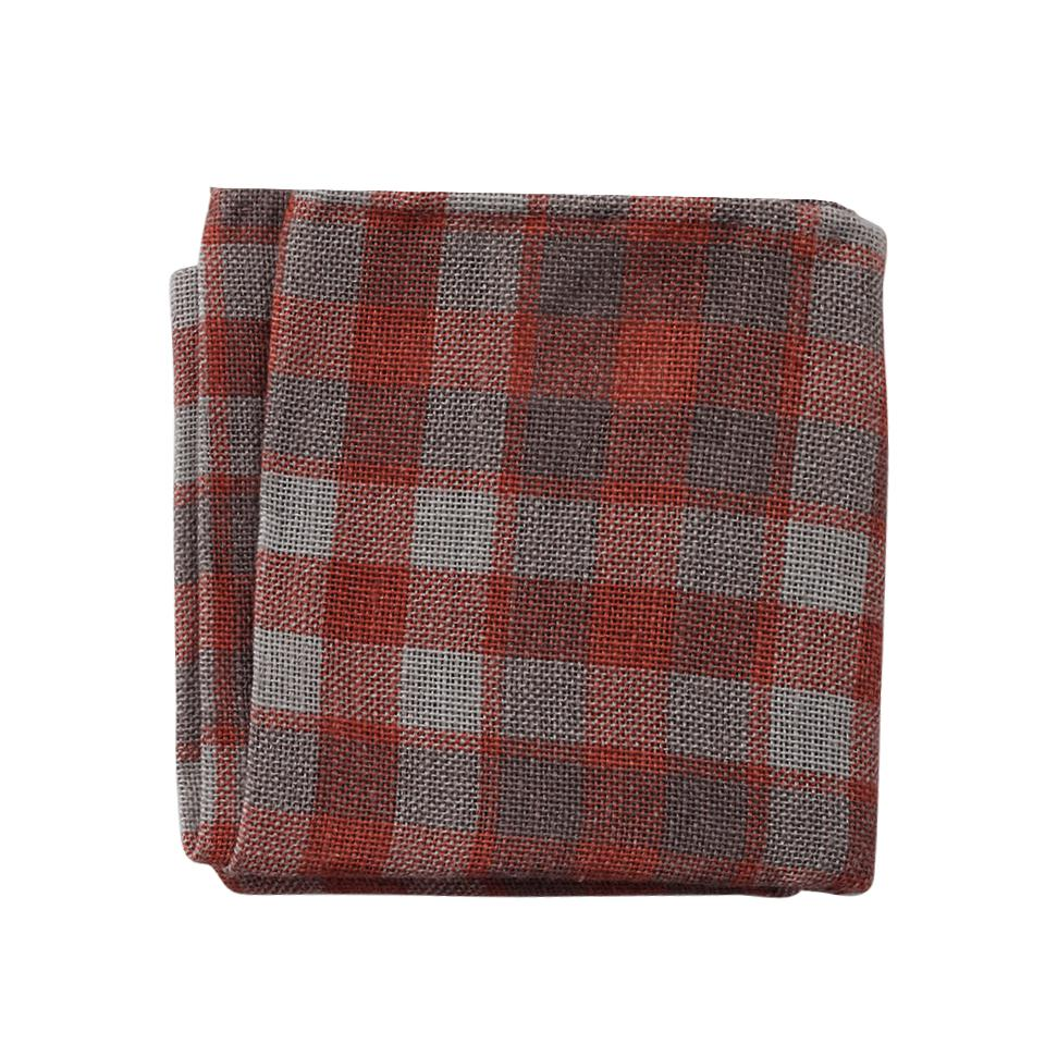 lyst brunello cucinelli country plaid pocket square in. Black Bedroom Furniture Sets. Home Design Ideas