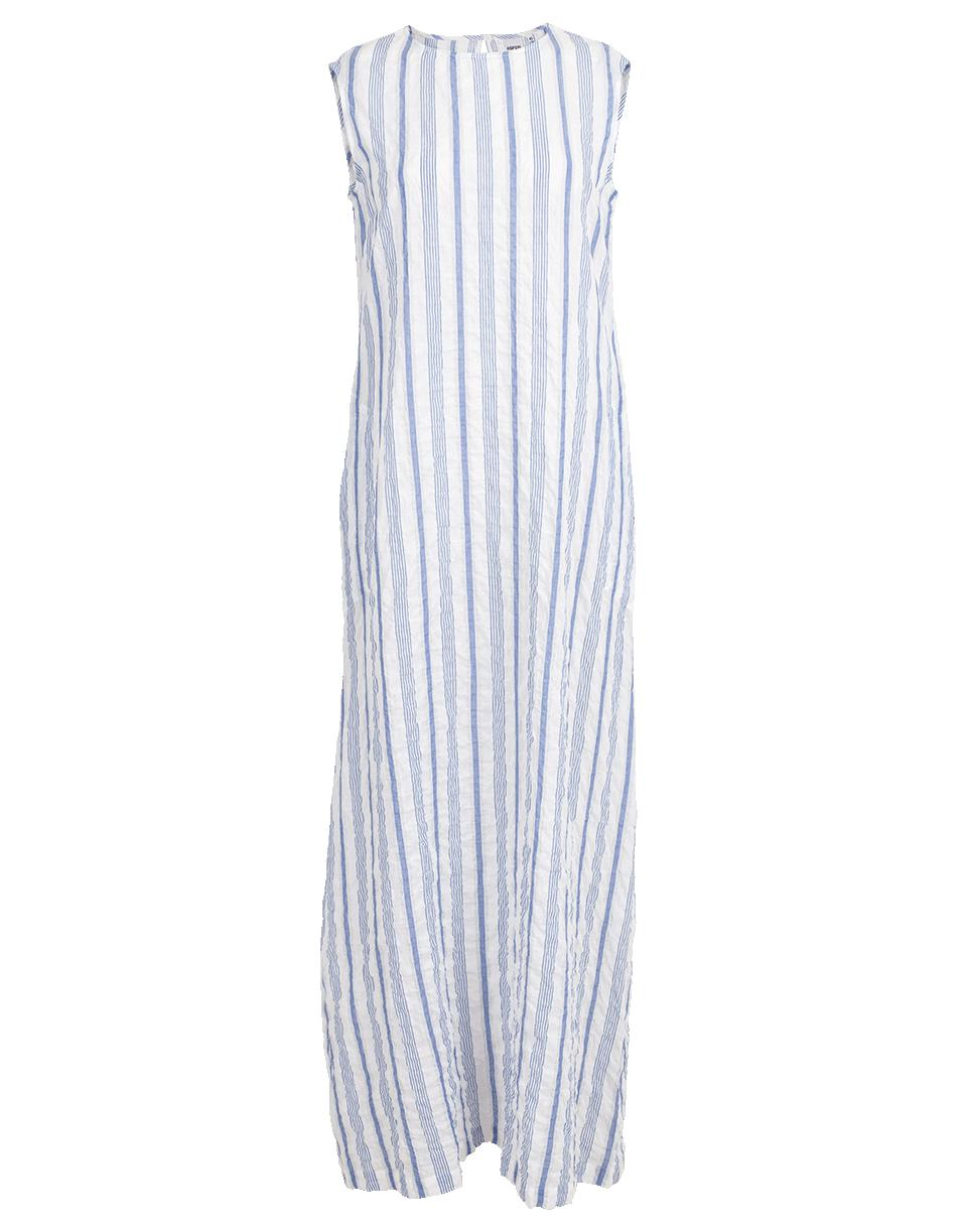 Cheap Sale Low Shipping Aspesi striped maxi dress Shop For Cheap Online Outlet Top Quality ffIb3I