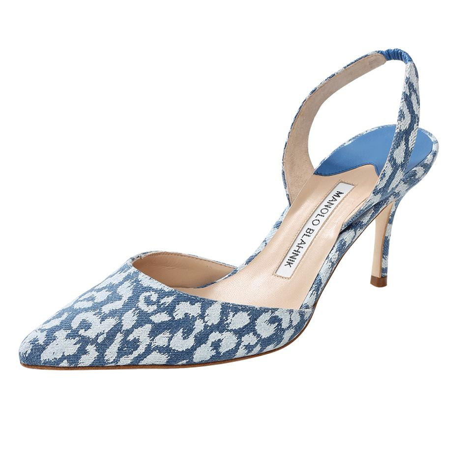 Manolo Blahnik Blue Shoes Uk