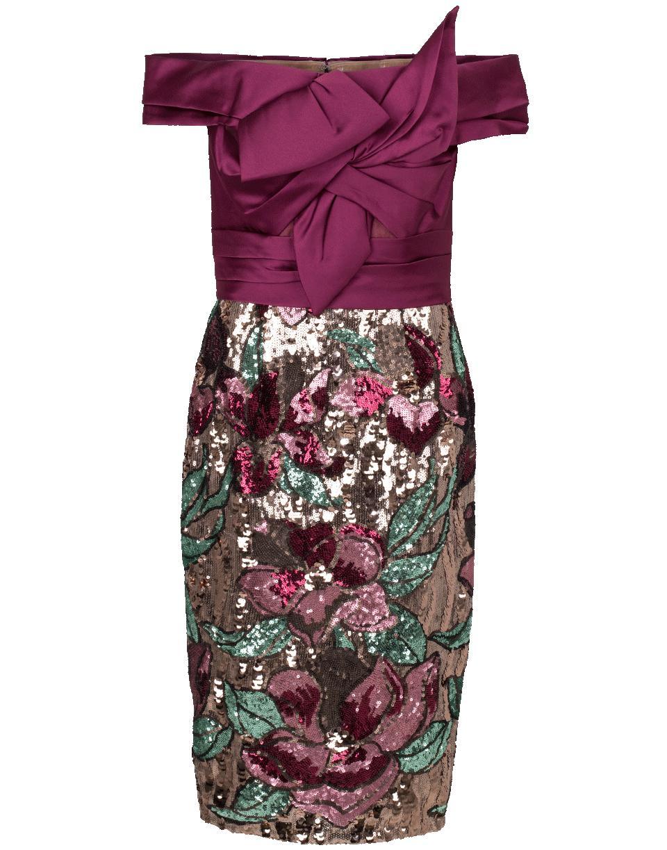 783fcf806f3c Marchesa notte. Women s Artwork Sequin Coctail Dress