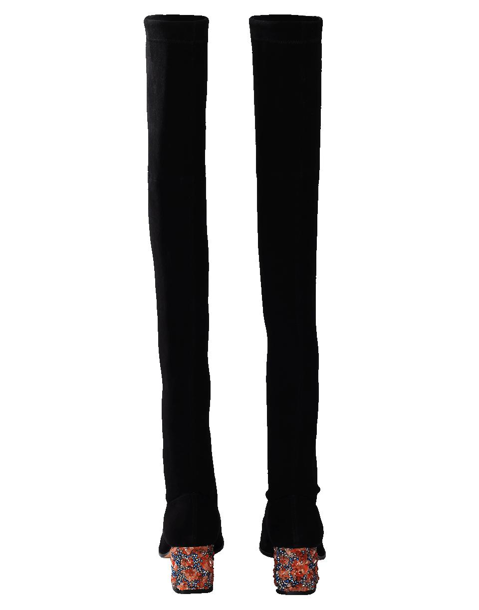 f77b57a4870 Sophia Webster Suranne Over The Knee Boot in Black - Lyst