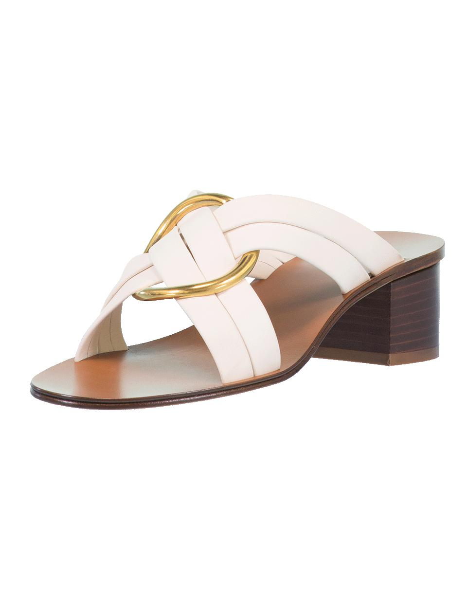 c9c6b5777b98 Lyst - Chloé Rony Heeled Sandal