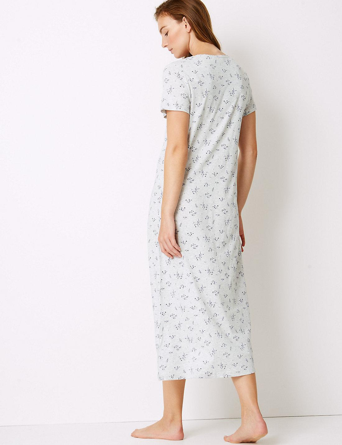 Lyst - Marks   Spencer Modal Blend Nightdress With Cool Comforttm ... a7f6bd02d
