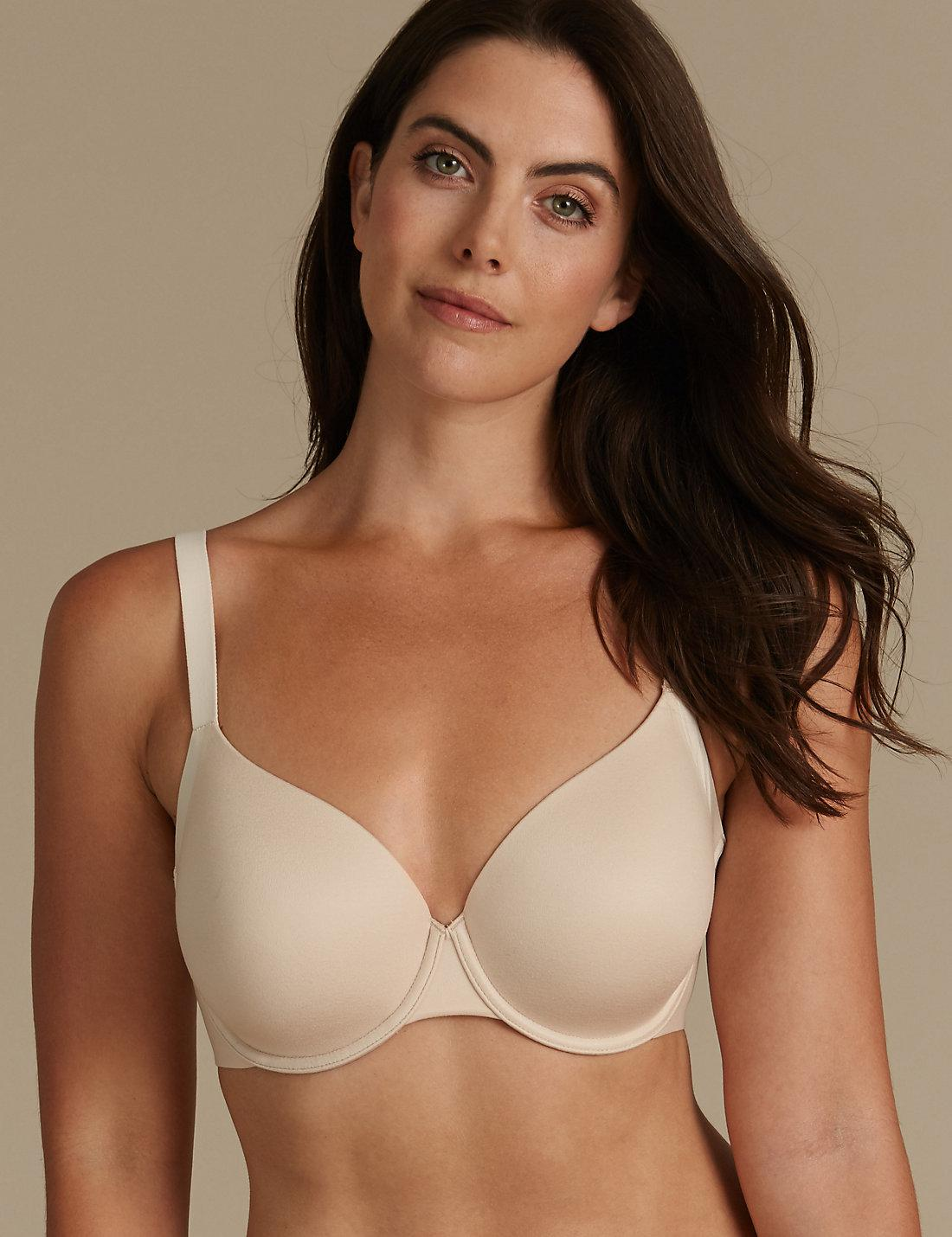a37b9d7c5 Marks   Spencer Sumptuously Soft Padded Full Cup T-shirt Bra A-dd - Lyst