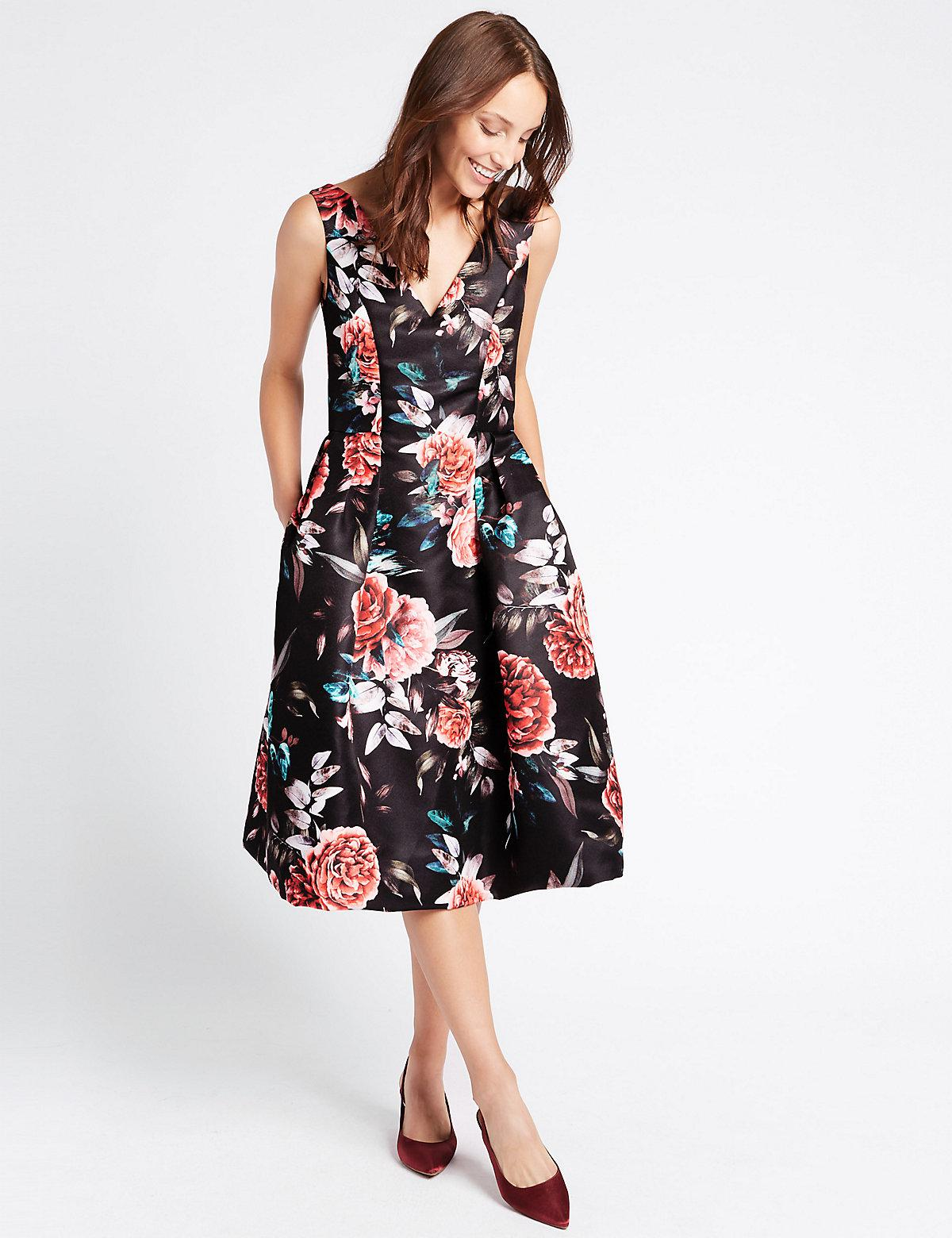 c74a13de6ce Flower Dresses At Marks And Spencers - Flowers Healthy