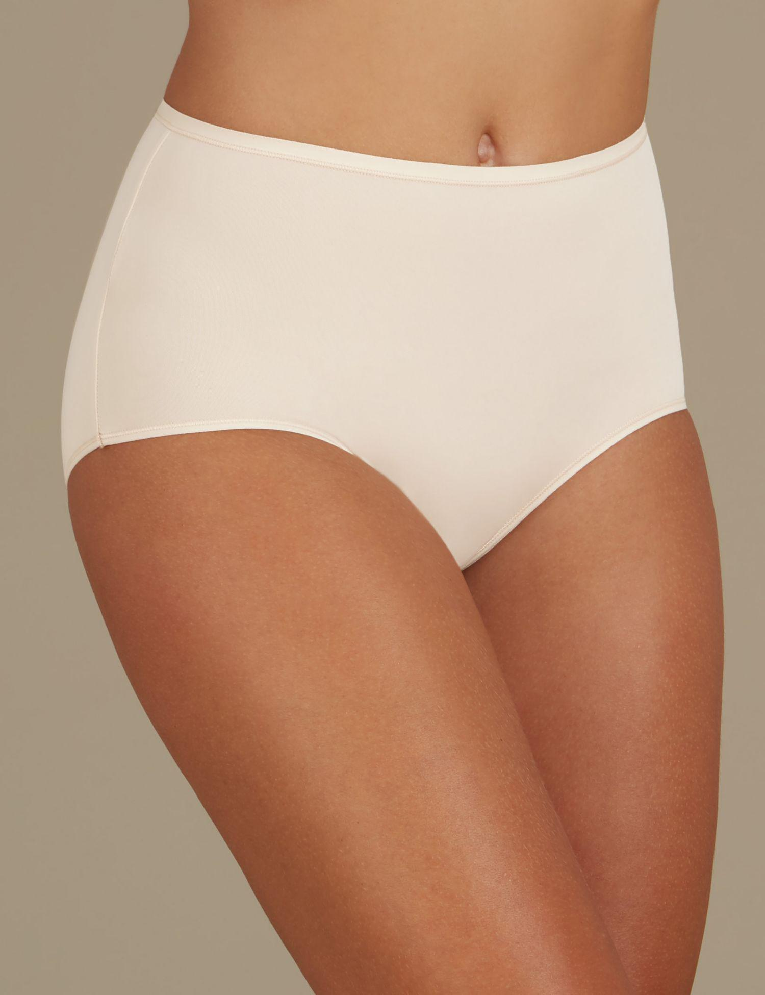 77a831ce696 Marks   Spencer 5 Pack No Vpl Microfibre High Rise Full Briefs in Natural -  Lyst