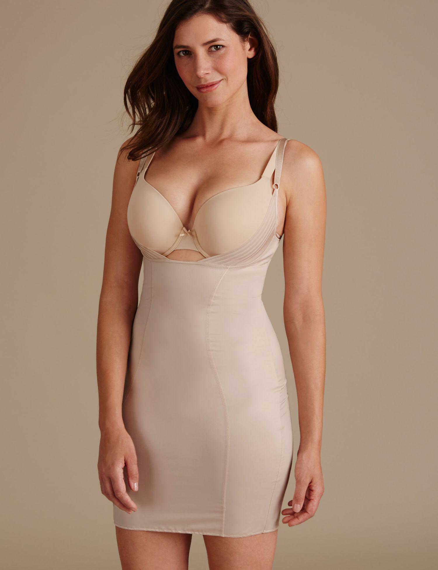 3c91bb56c3 Marks   Spencer Firm Control Wear Your Own Bra Slip in Natural - Lyst