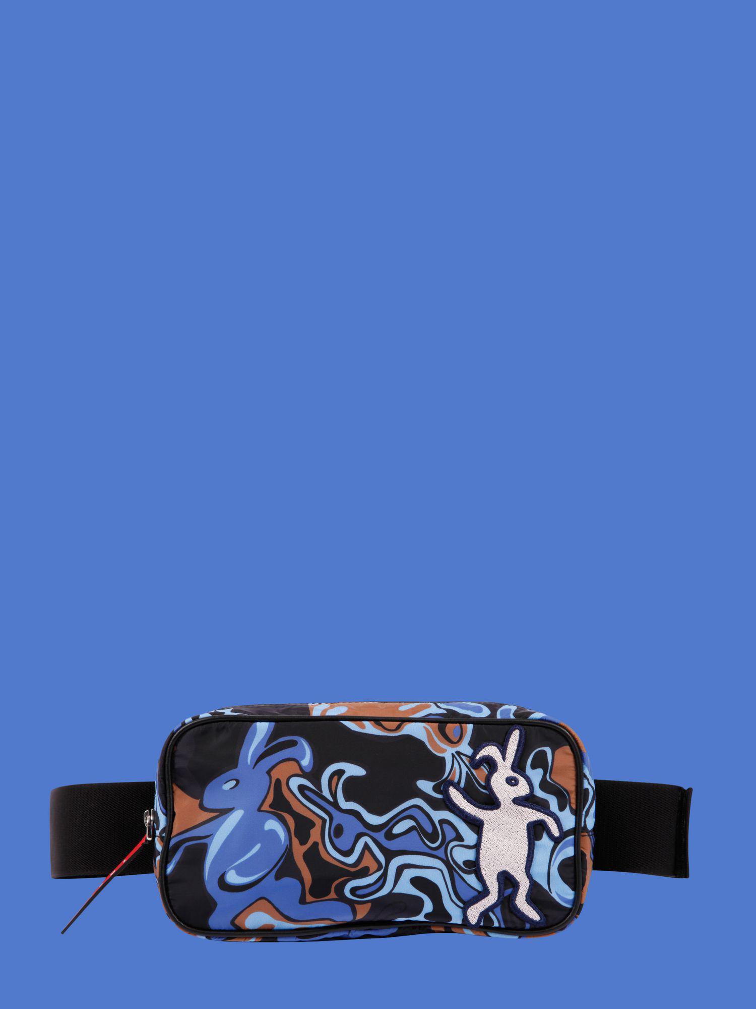 Bunny Print With Dance Nylon Blue In Bag Light Men Marni Belt For v76Yfgby