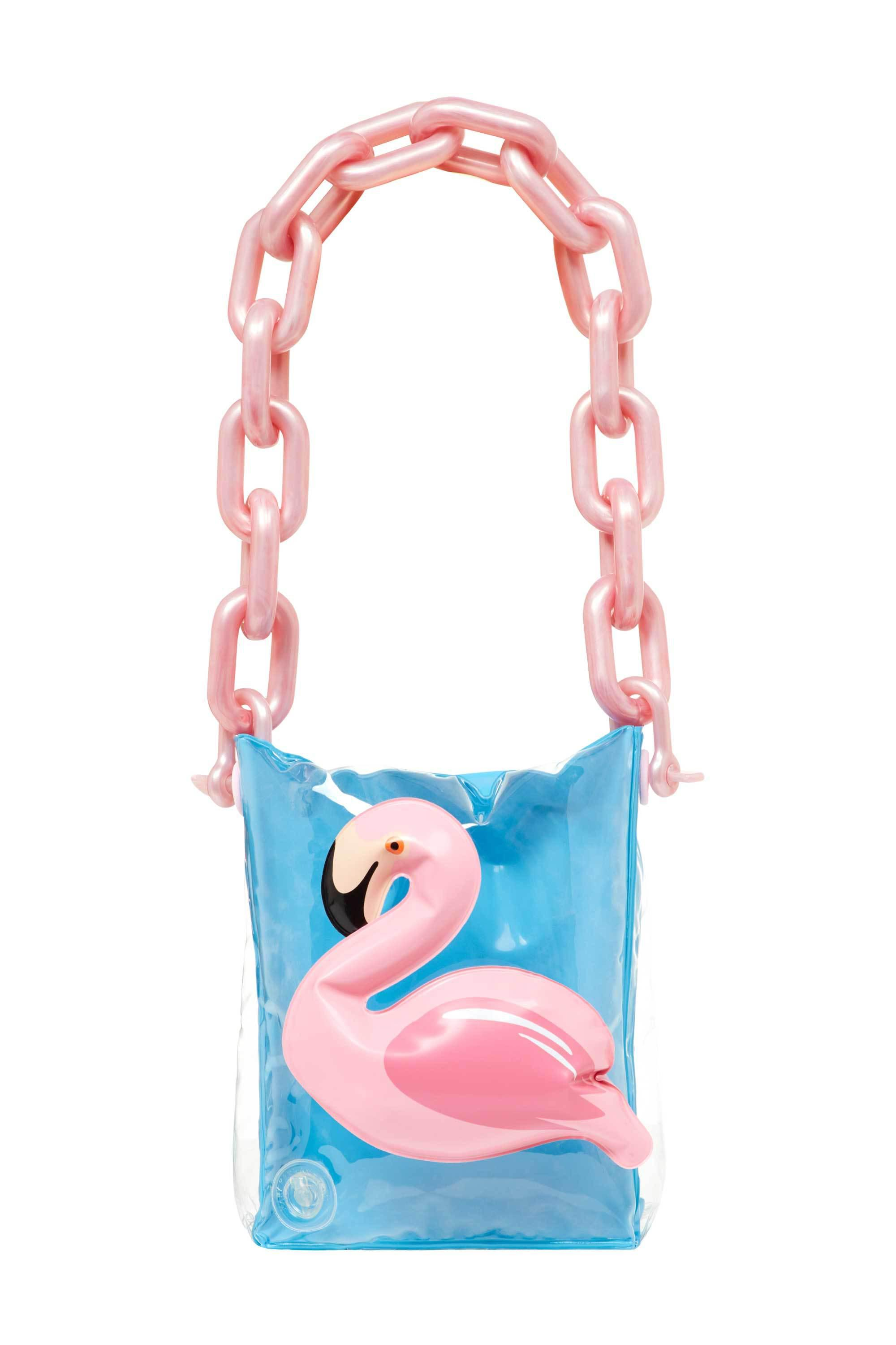f01c39c4bdf0 Lyst - Mary Katrantzou Inflatable Bag Light Blue Flamingo in Blue