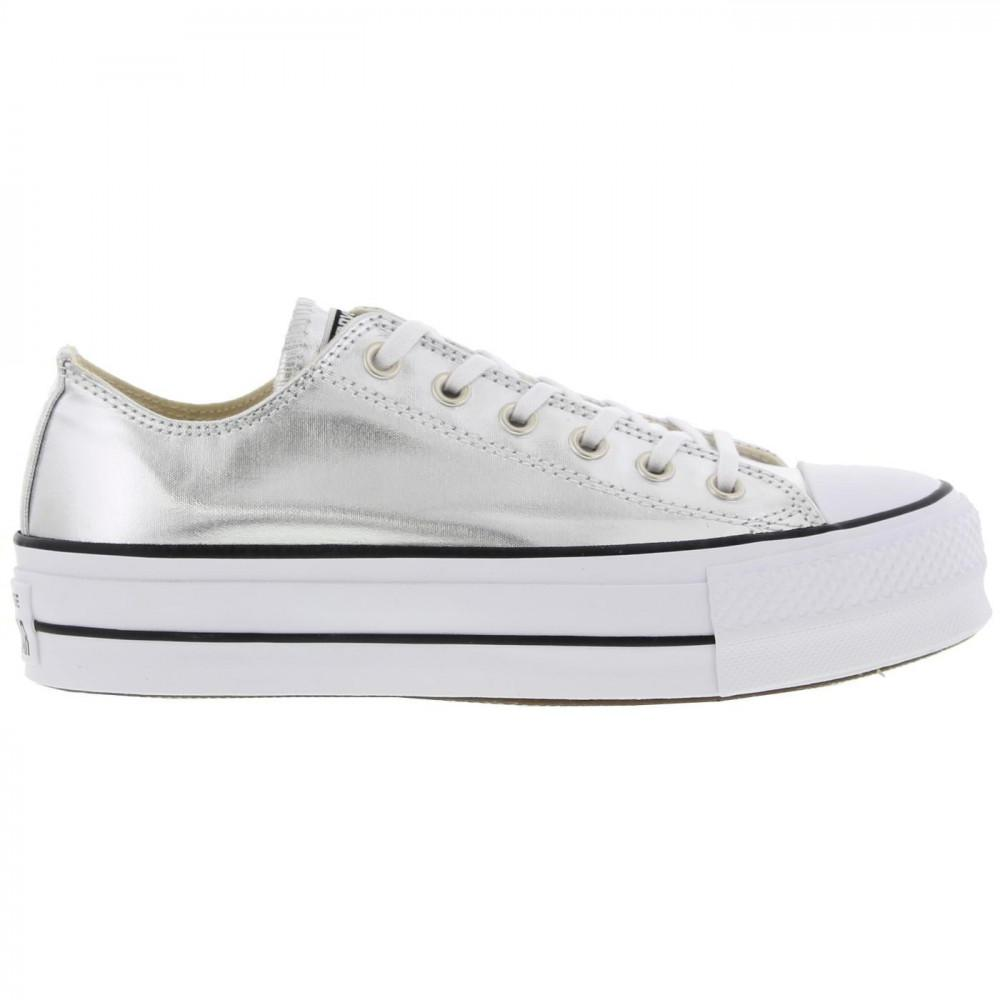 Converse All Star Low Platform Trainers Lift Ox Chunky Shoes in ... 3ca97fa62