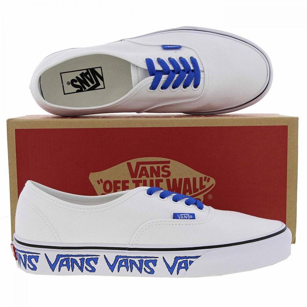 f9f35d1dfa3a Vans - Blue Classic Authentic Sketch Skate Shoes Trainers for Men - Lyst.  View fullscreen