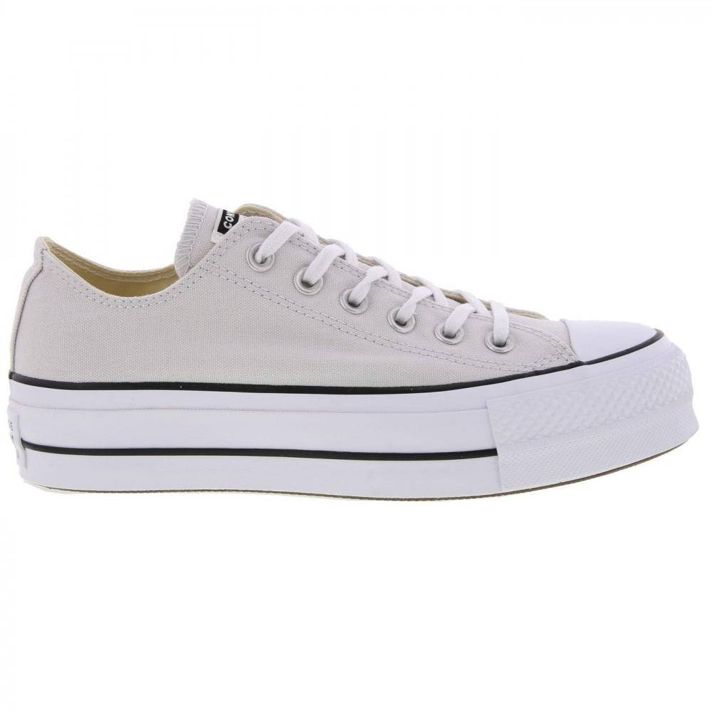 9dc0b5bc342e Converse All Star Low Platform Trainers Lift Ox Chunky Shoes in ...