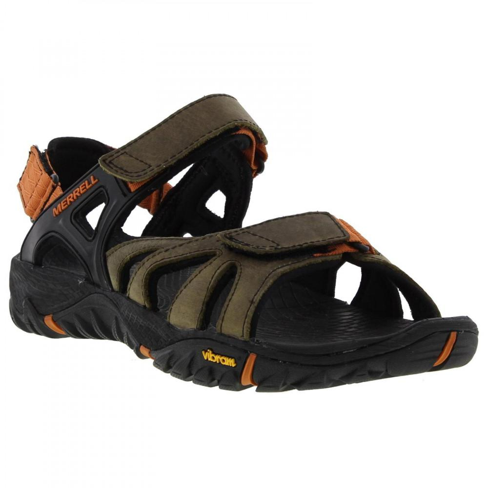 04408f7b9be4 Merrell All Out Blaze Sieve Convertible Walking Sandals in Brown for ...