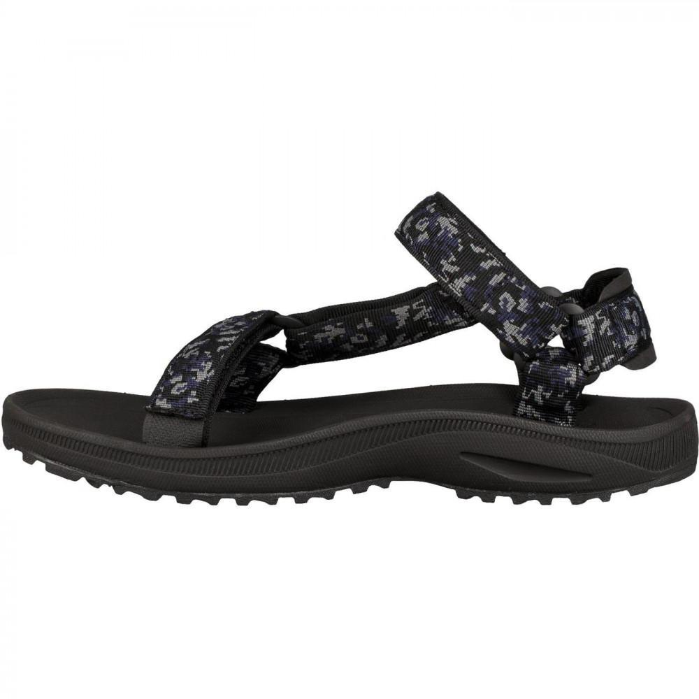 9aa403616 Teva - Black Winsted Adjustable Walking Sandals for Men - Lyst. View  fullscreen