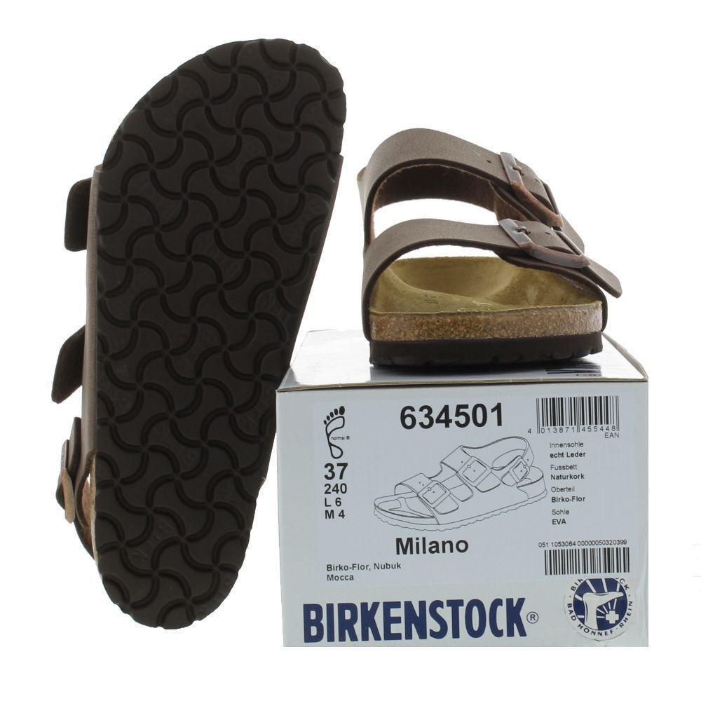 306d35f1160 Birkenstock - Brown Unisex Milano Birko Flor Sandals for Men - Lyst. View  fullscreen