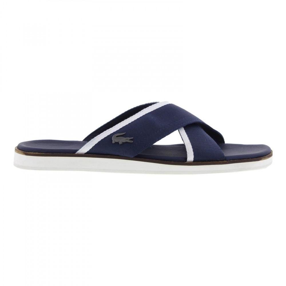 faba4355d94730 Lacoste Coupri Sandal 117 1 Cam Slide Sandals in Blue for Men - Lyst