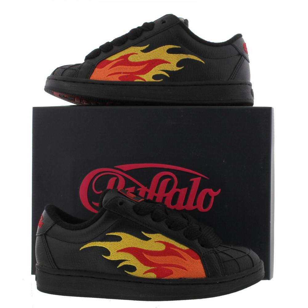 Flame Black Lyst Trainers Shoes In Buffalo 76Ygbfy