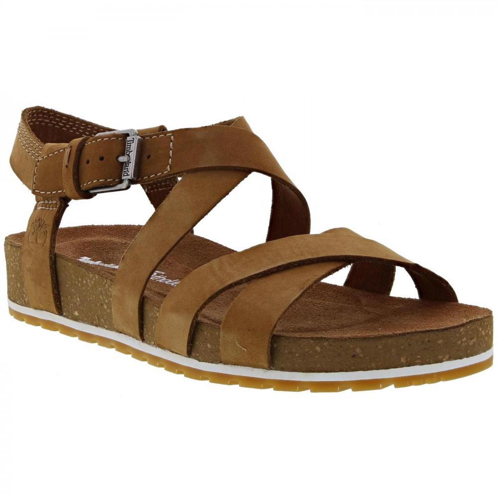 9f3b5a6b2979 Timberland - Brown Malibu Waves Ankle Gladiator Sandals - Lyst. View  fullscreen