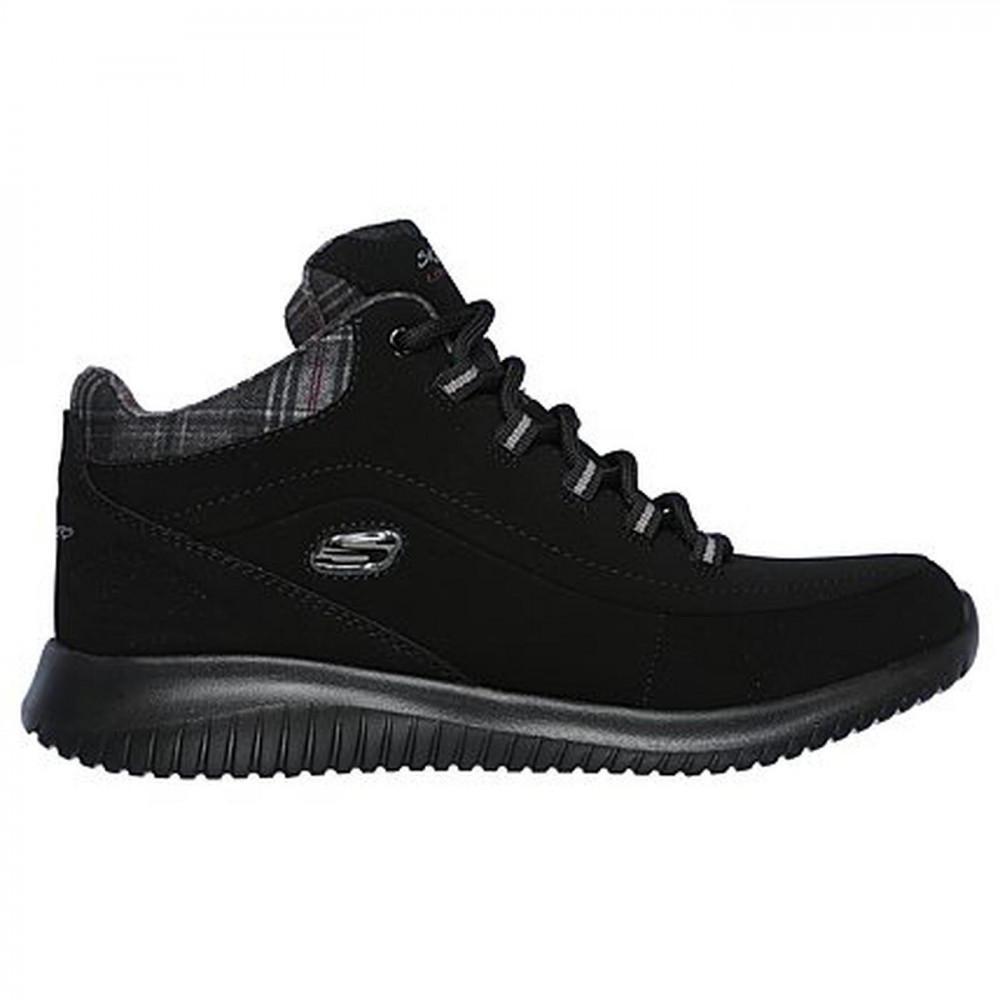 5299341d7462 Skechers - Black Ultra Flex Just Chill Ankle Chukka Trainers Boots - Lyst.  View fullscreen