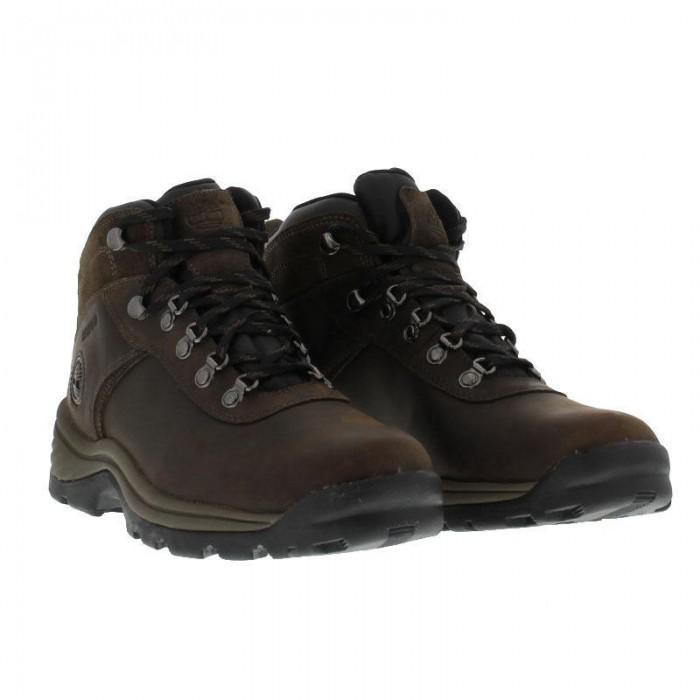 ee5e7d4878 Timberland Flume Mid Waterproof Walking Boots - Dark Brown in Brown ...