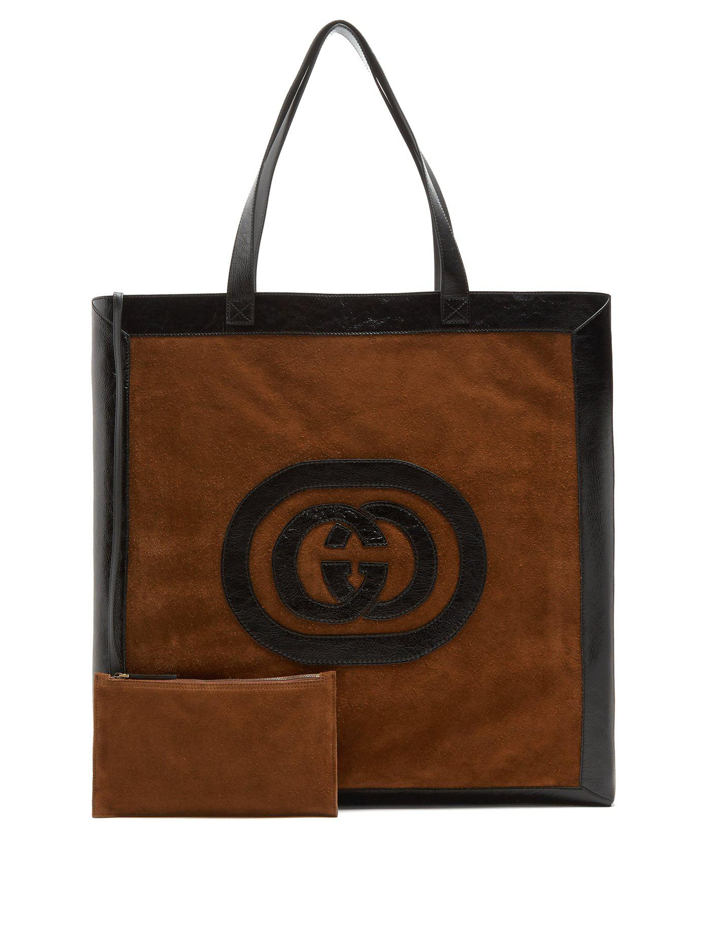 5364b9feb792 Gucci. Women's Ophidia Large Suede Tote Bag