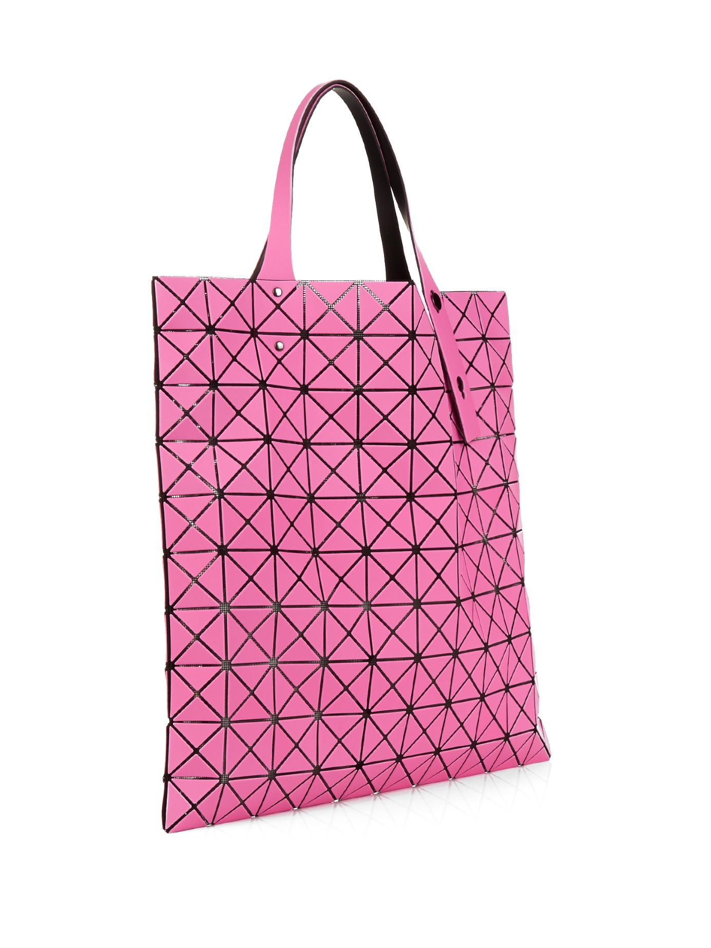 Lyst - Bao Bao Issey Miyake Prism 2 Matte Tote in Pink 4751a9dd6ef93