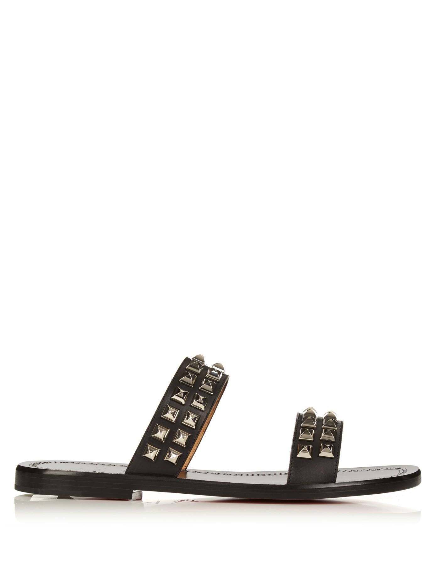 louboutin beach sandals