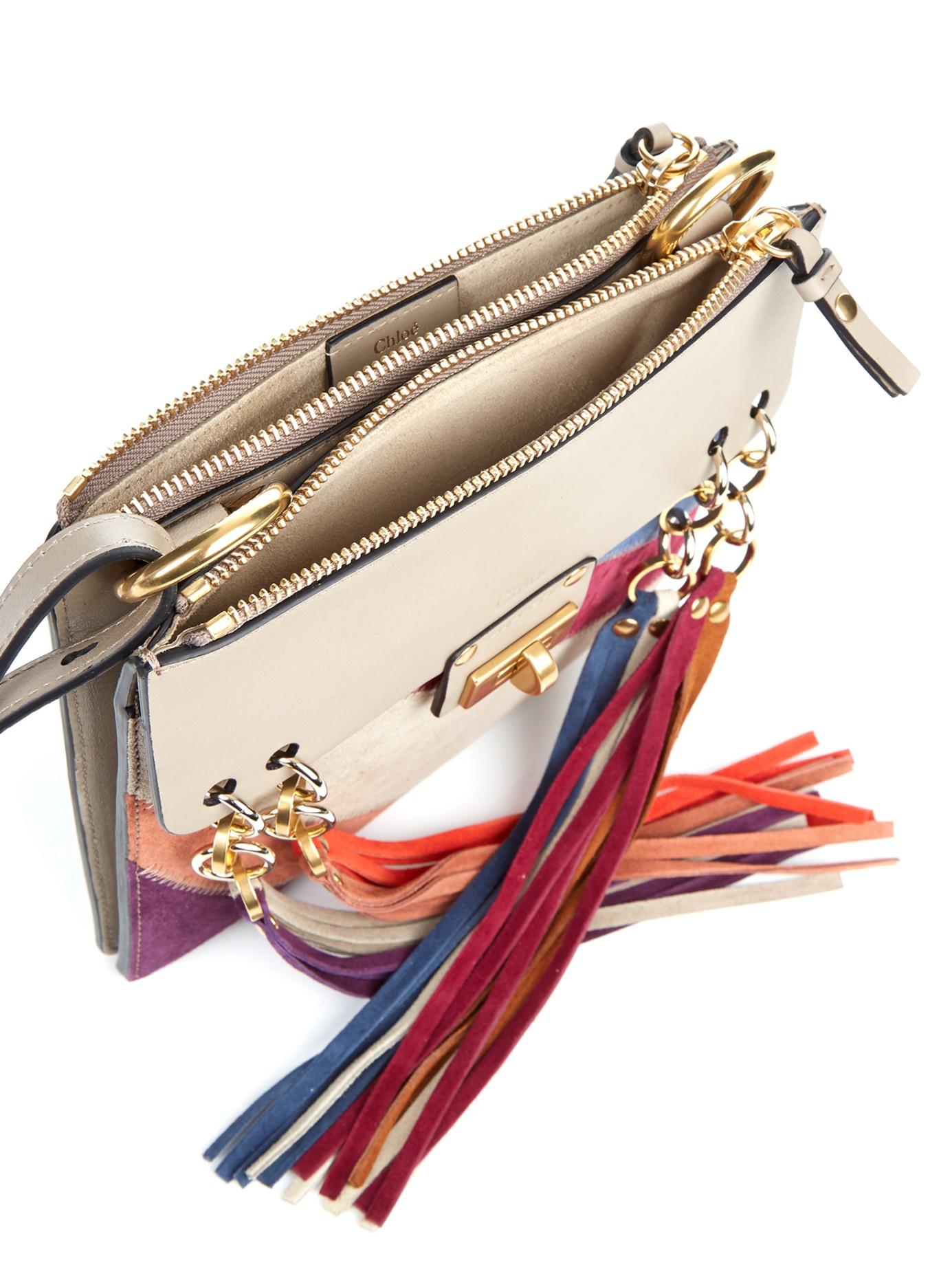 Chloe Jane Mini Fringed Suede Bag