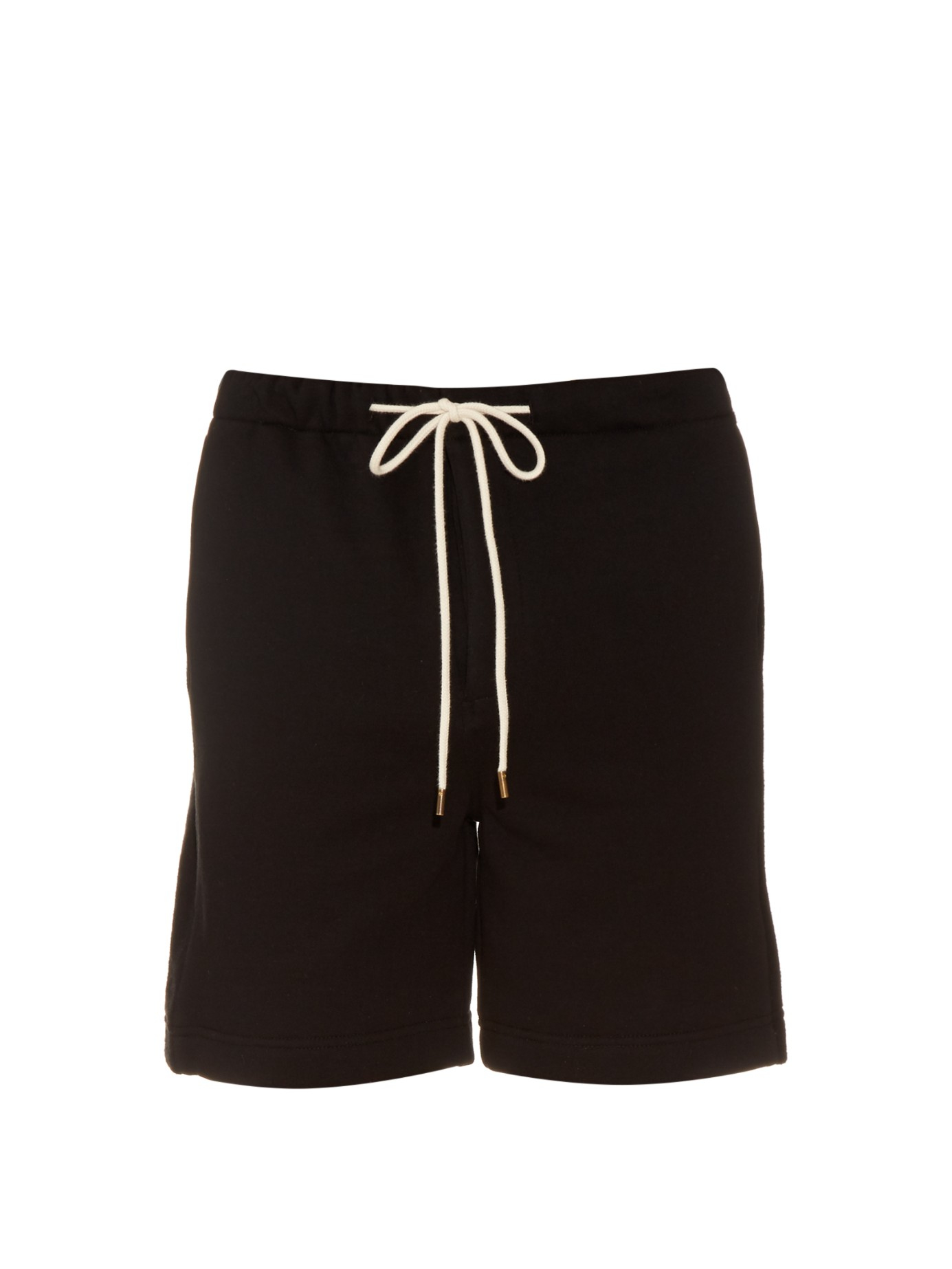 Lyst - Fanmail Fleece-panel Cotton Shorts in Black for Men