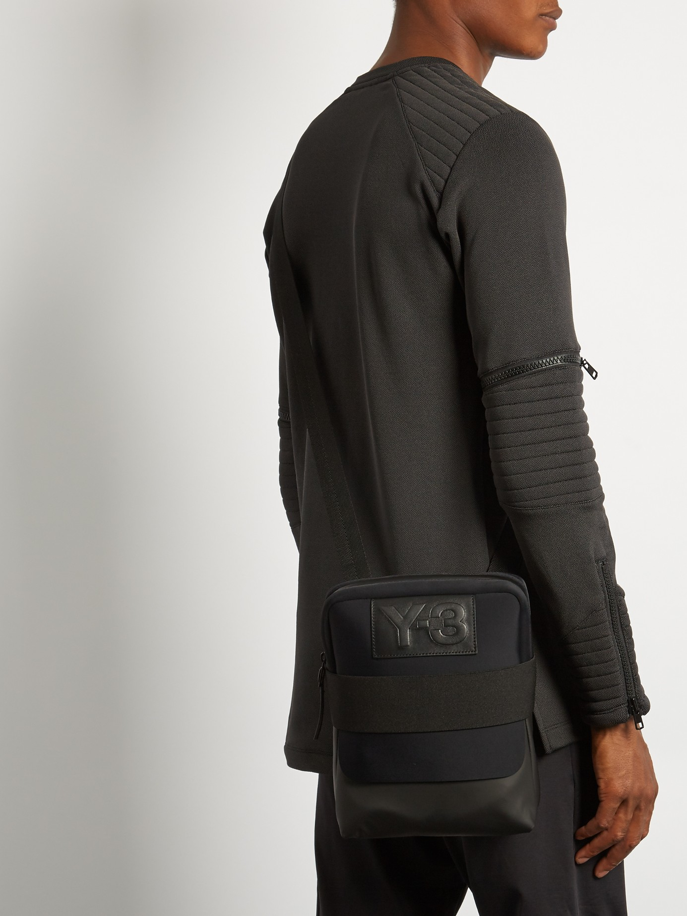 0810ea9dc411 Lyst - Y-3 Qasa Report Messenger Bag in Black for Men