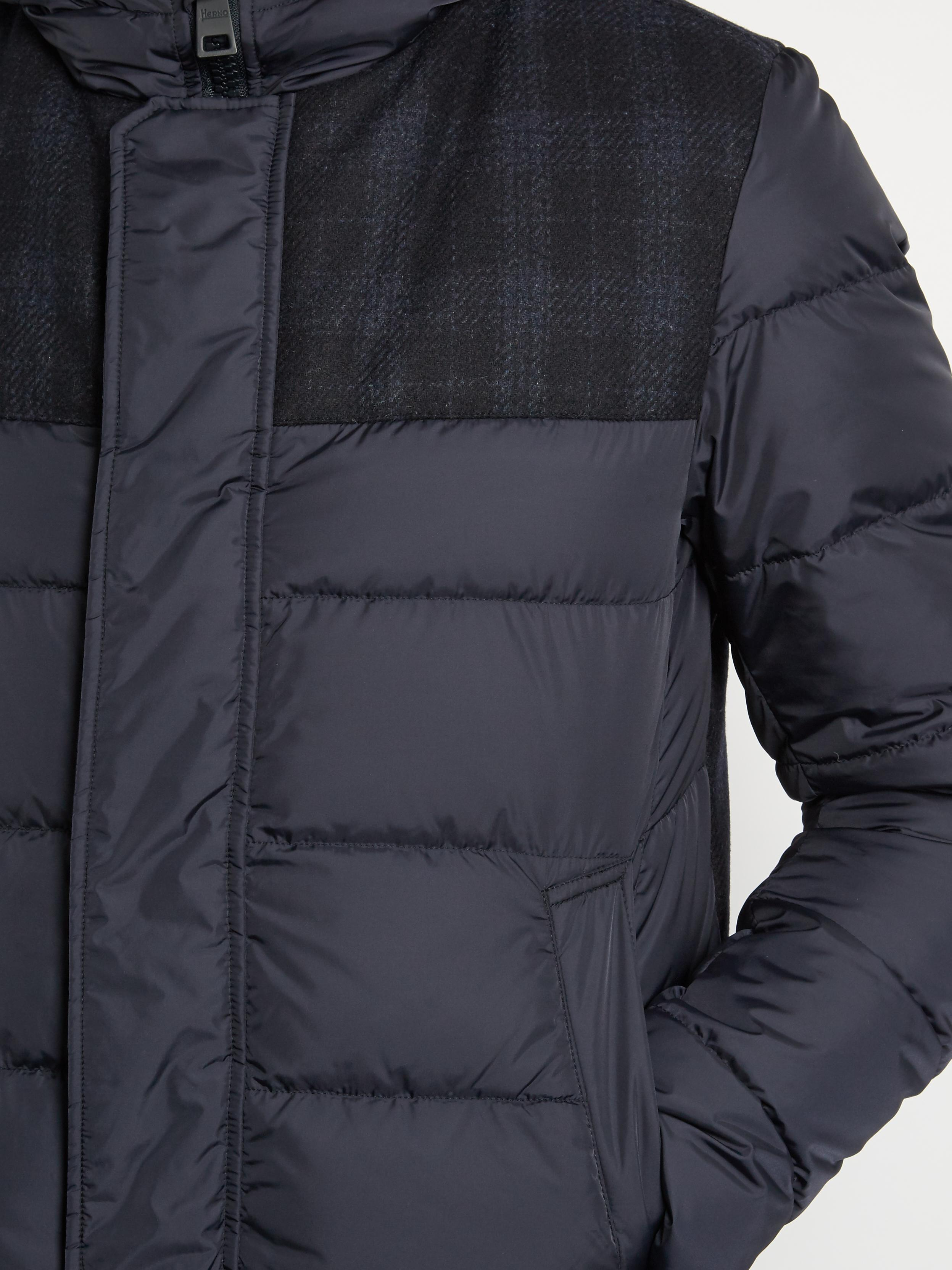4469756ec0d3 Lyst - Herno Polar Tech Quilted Down Jacket in Blue for Men