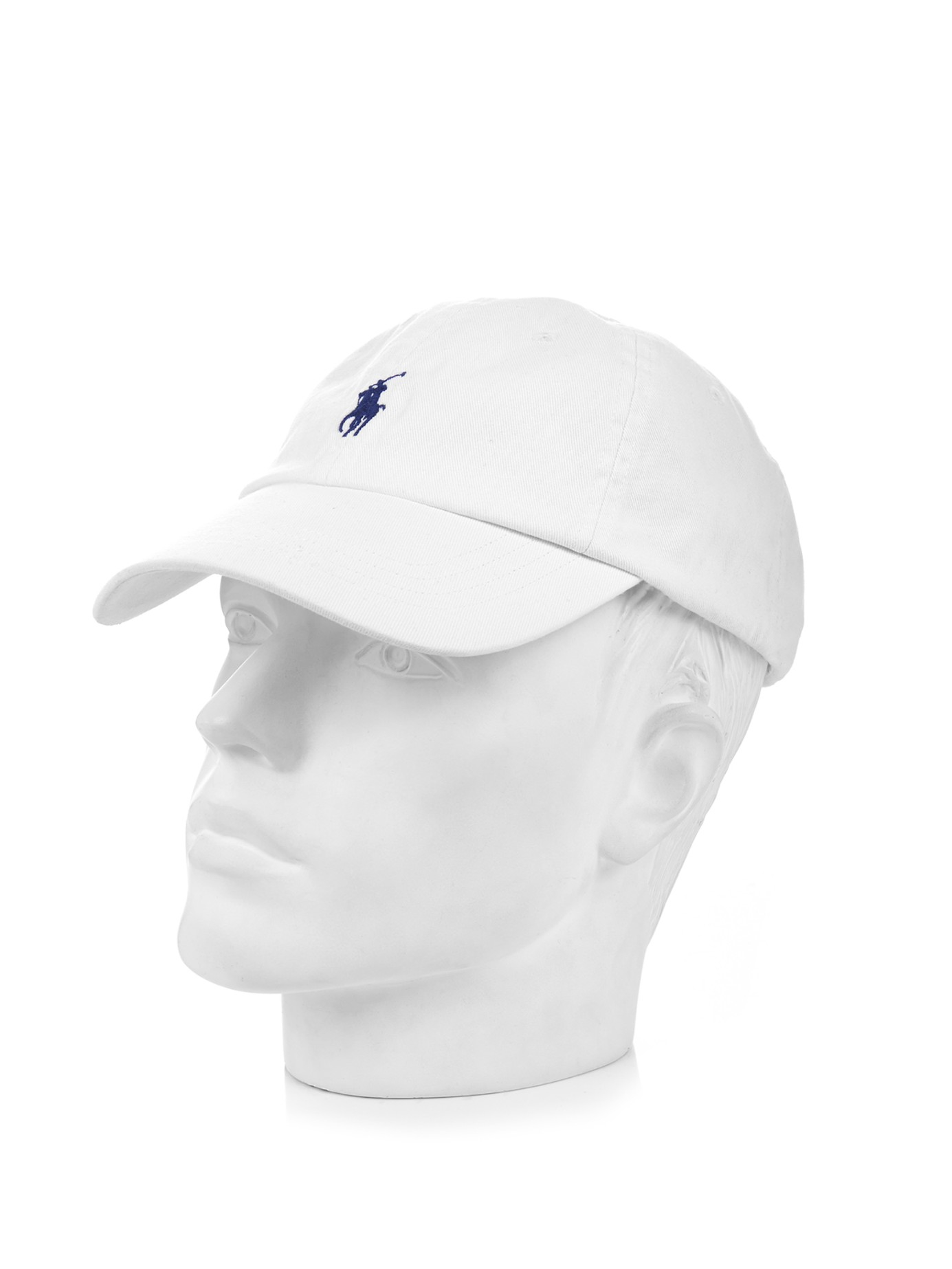 332269c7 Lyst - Polo Ralph Lauren Logo-embroidered Cotton Cap in White for Men
