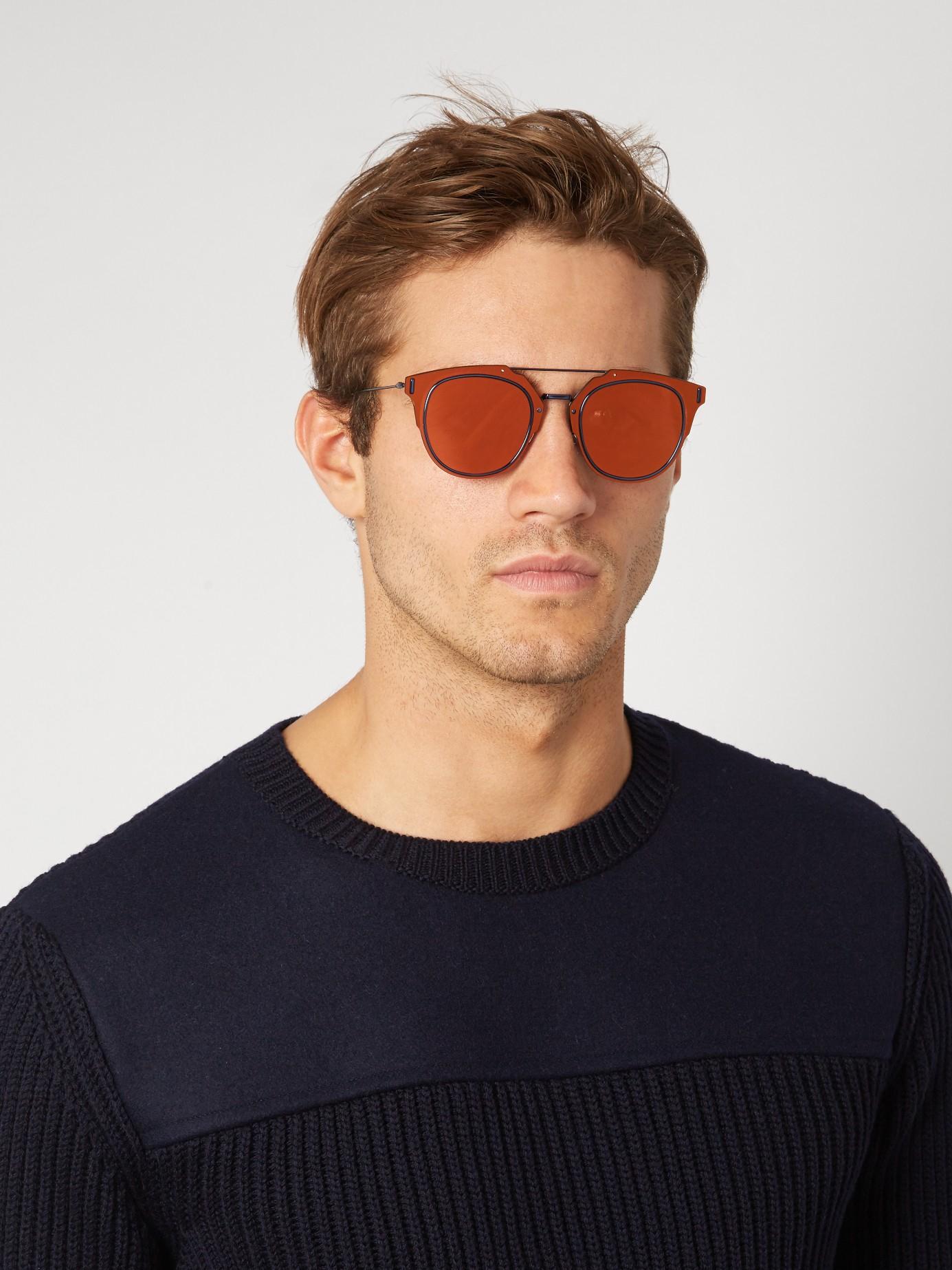 99572a5fe7a Lyst - Dior Homme Composit 1.0 Pantos-style Sunglasses for Men