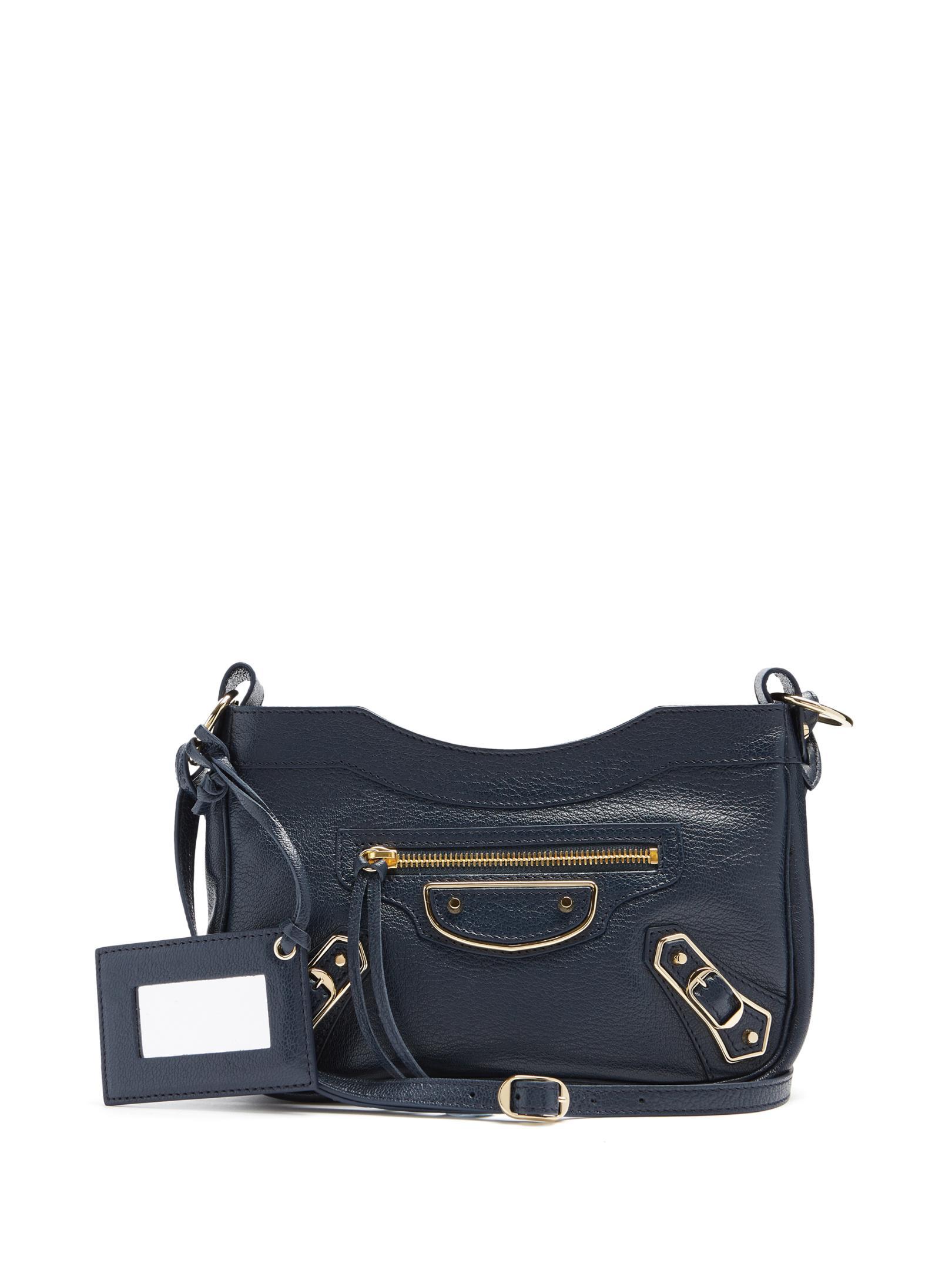 d8f3d15f64 Balenciaga Classic Metallic Edge Hip Cross-body Bag in Blue - Lyst