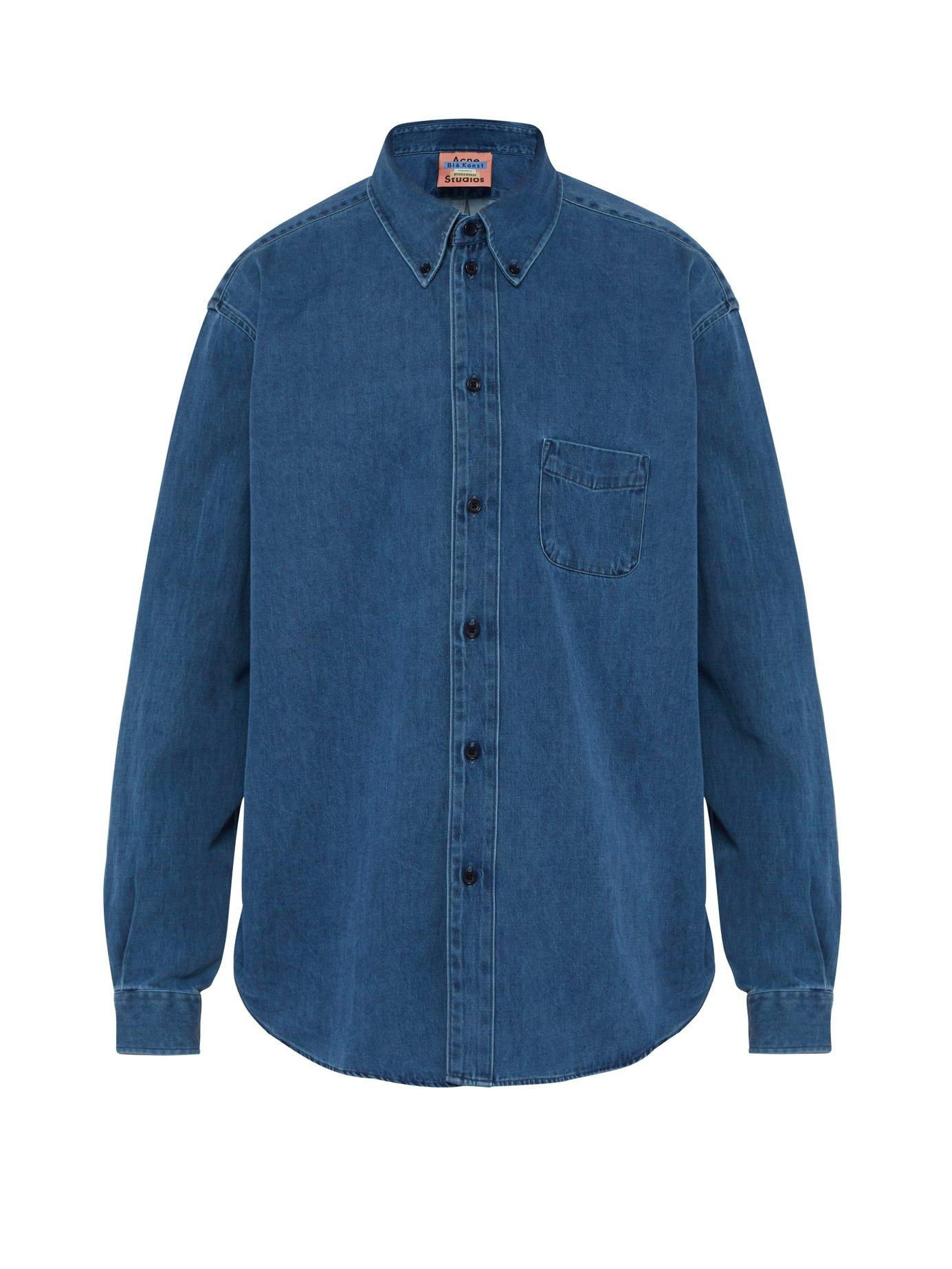 c559a46132 Lyst - Acne Studios Denim Shirt in Blue for Men
