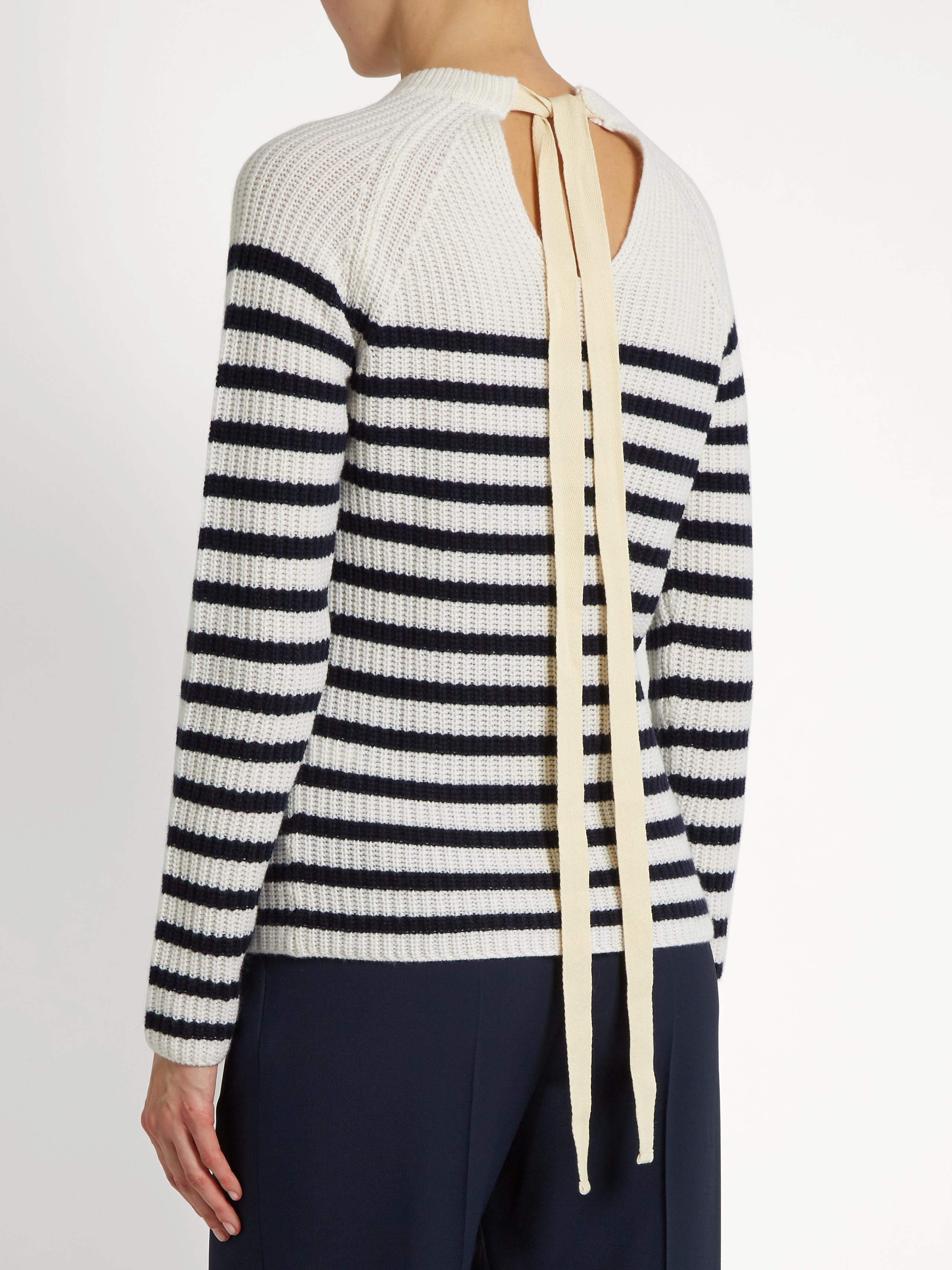 striped jumper - White Joseph Free Shipping Geniue Stockist Discount Codes Shopping Online Clearance Top Quality Where Can You Find NRNbzAjRVY