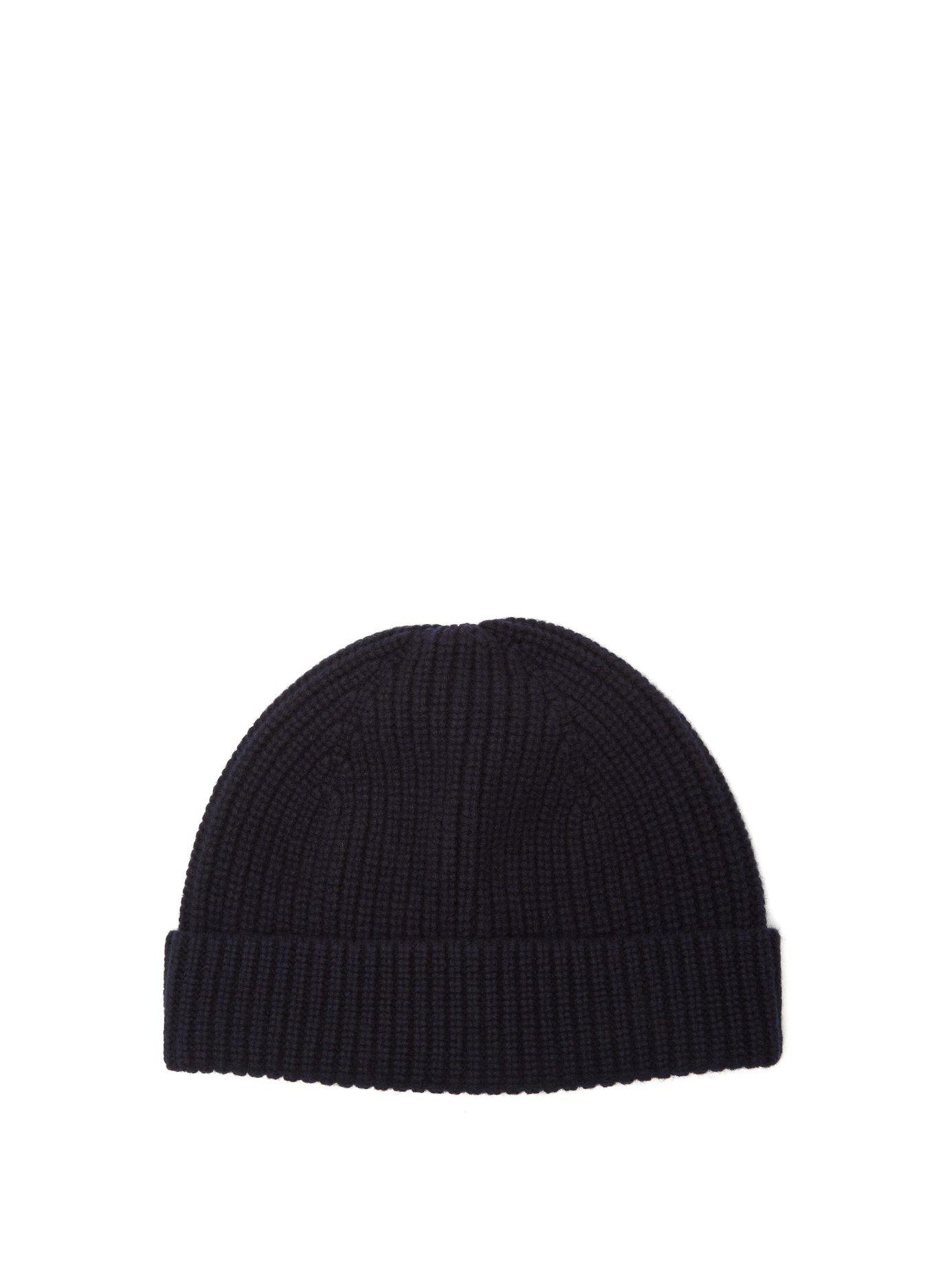 b6e58895c13 Lyst - A.P.C. Paul Ribbed Wool And Cashmere-blend Beanie in Blue for Men