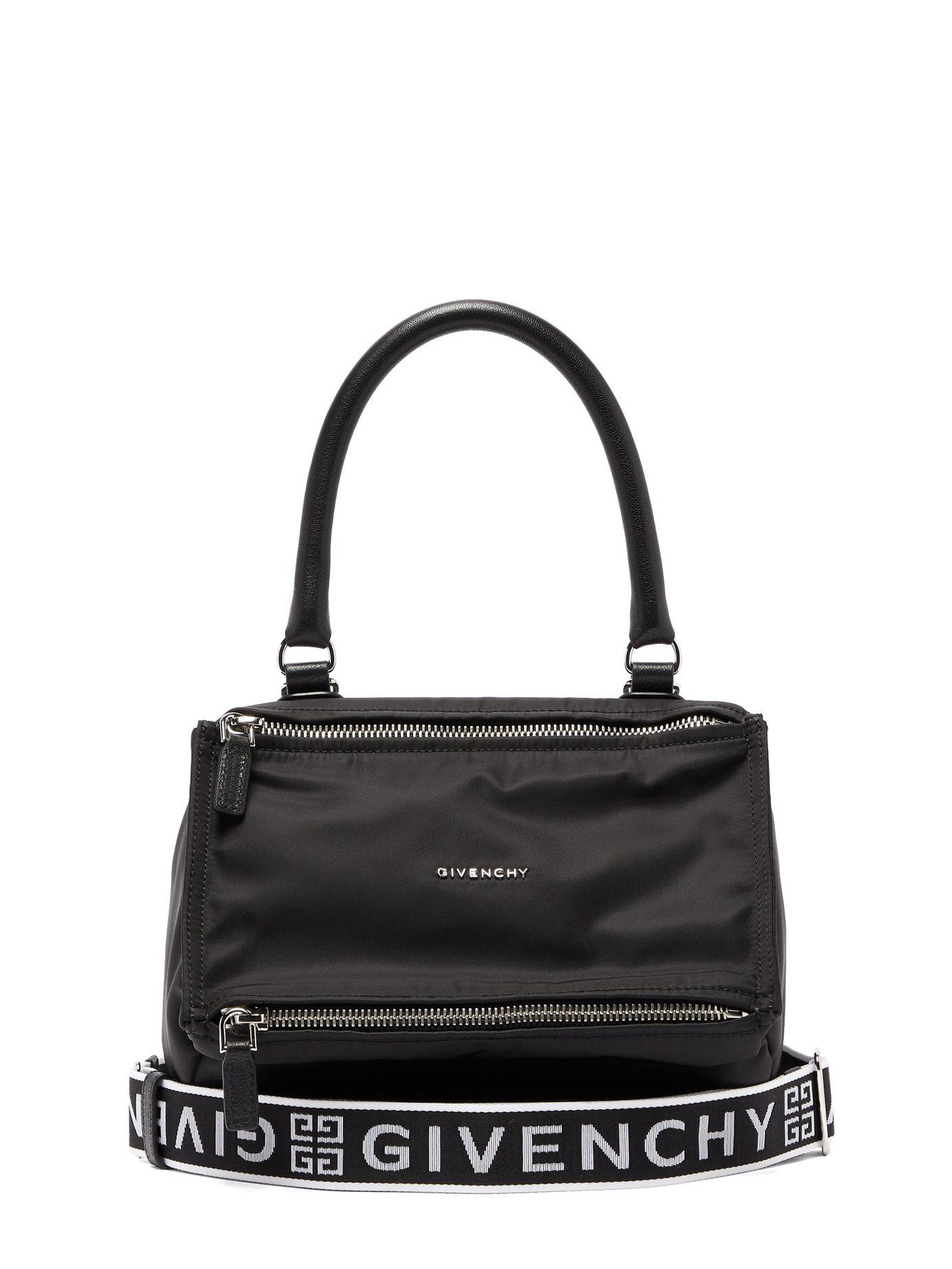01cef634d565 Givenchy - Black Pandora Nylon Bag - Lyst. View fullscreen