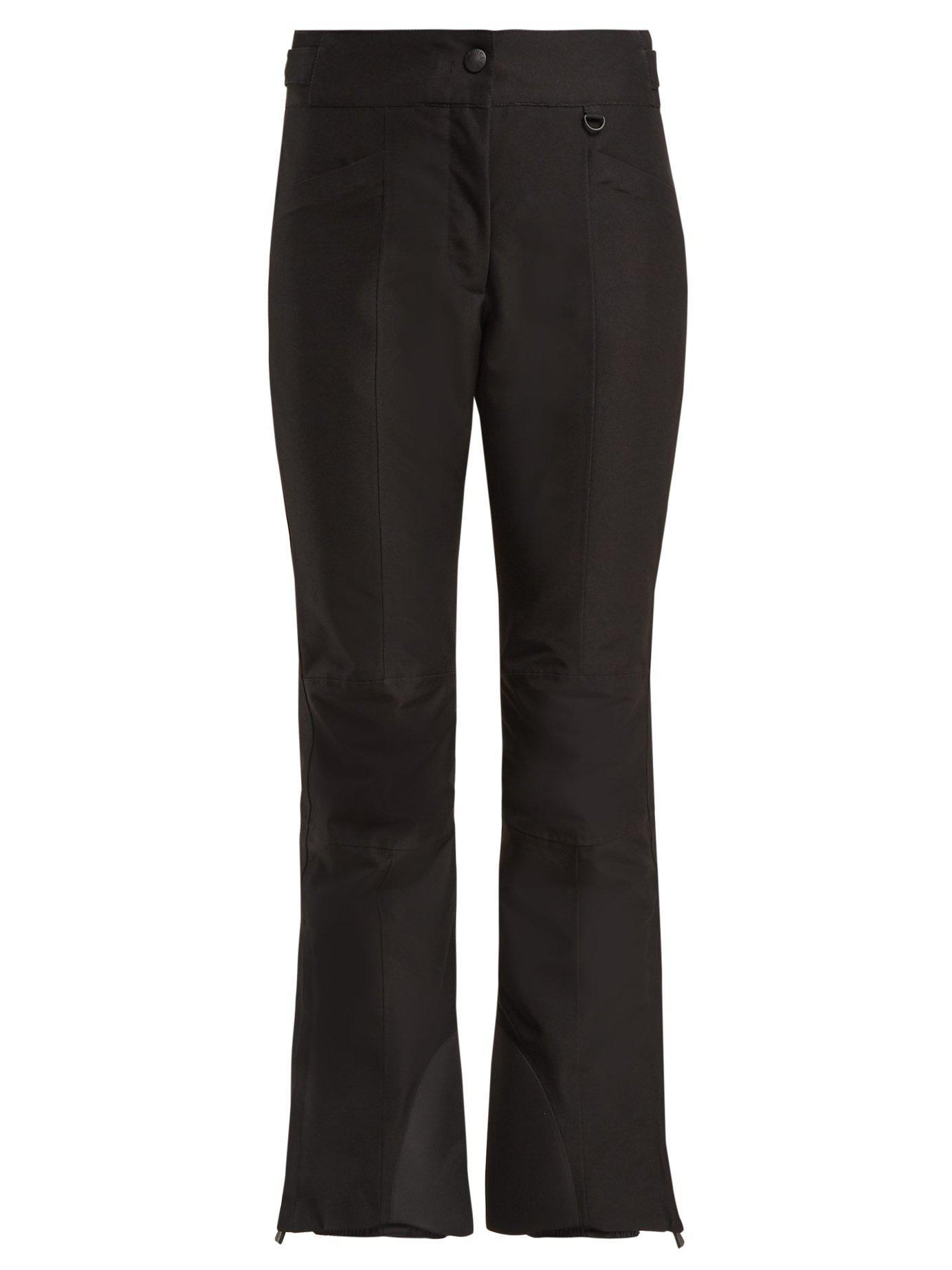 Lyst - Moncler Grenoble Flared Ski Trousers in Black e0c3083d5