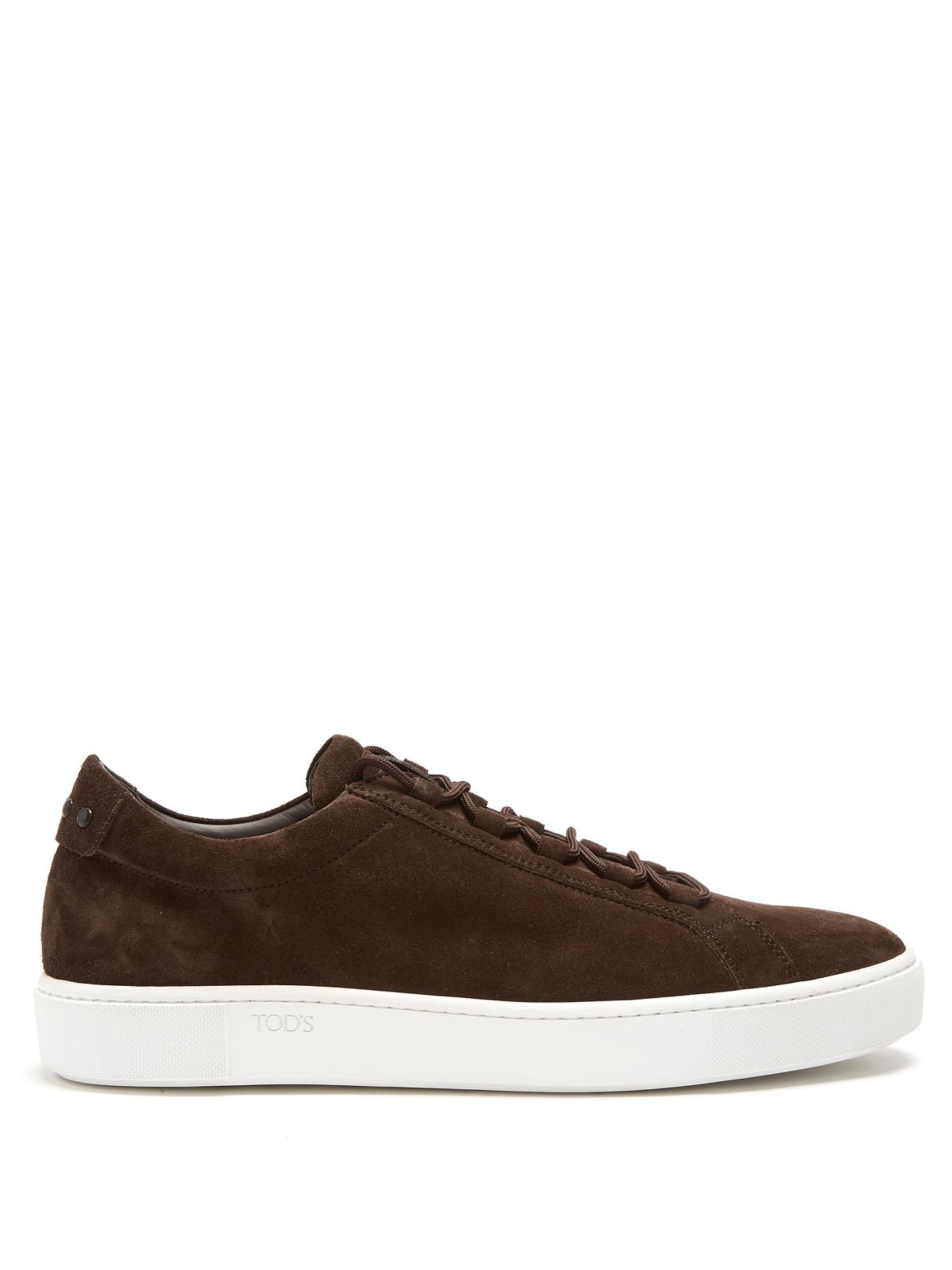 Tod's Leather Low Trainers v0Rx8Hfv4t