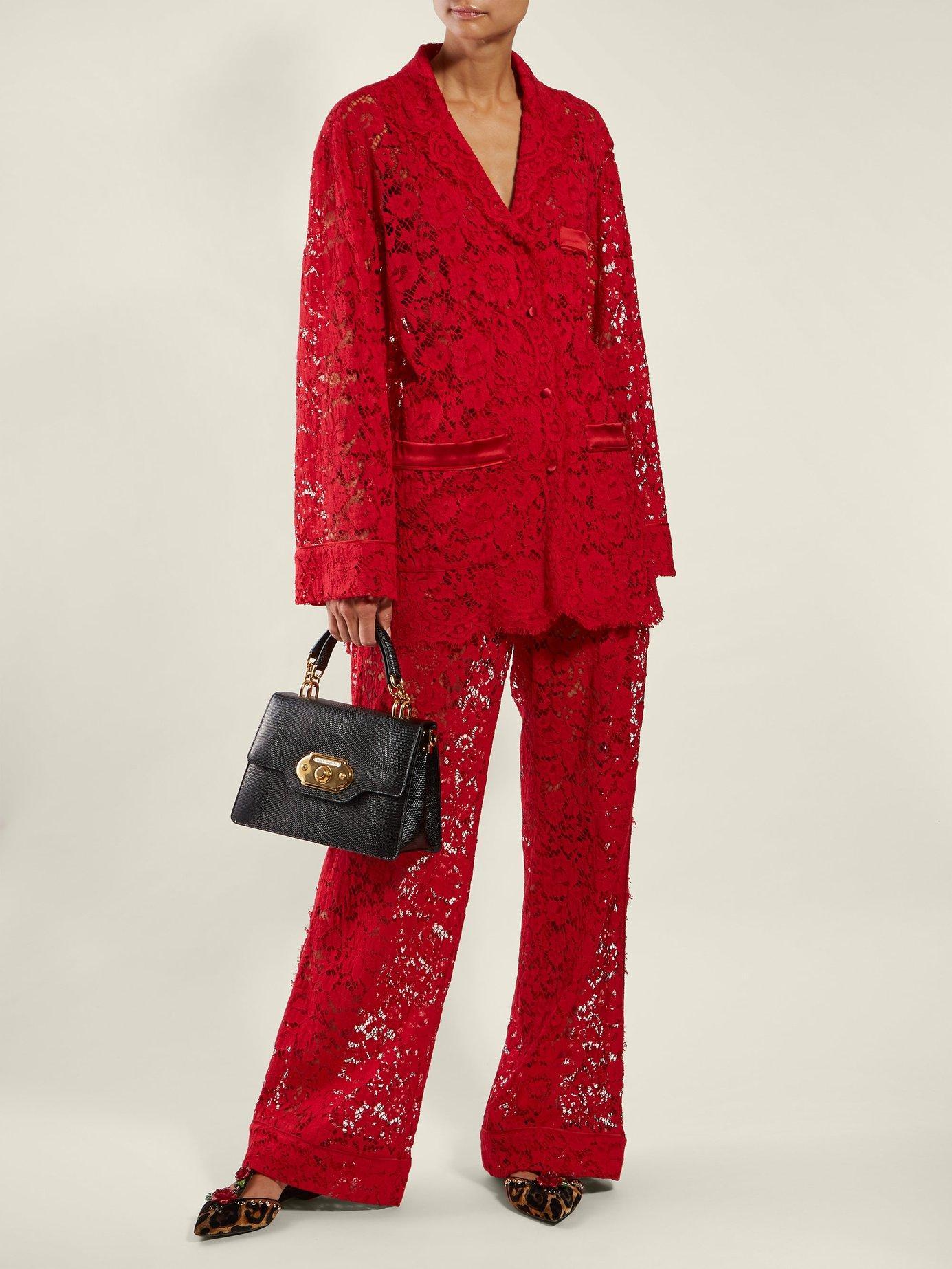 Dolce   Gabbana - Black Welcome Iguana Effect Leather Bag - Lyst. View  fullscreen cf3a00e25f4