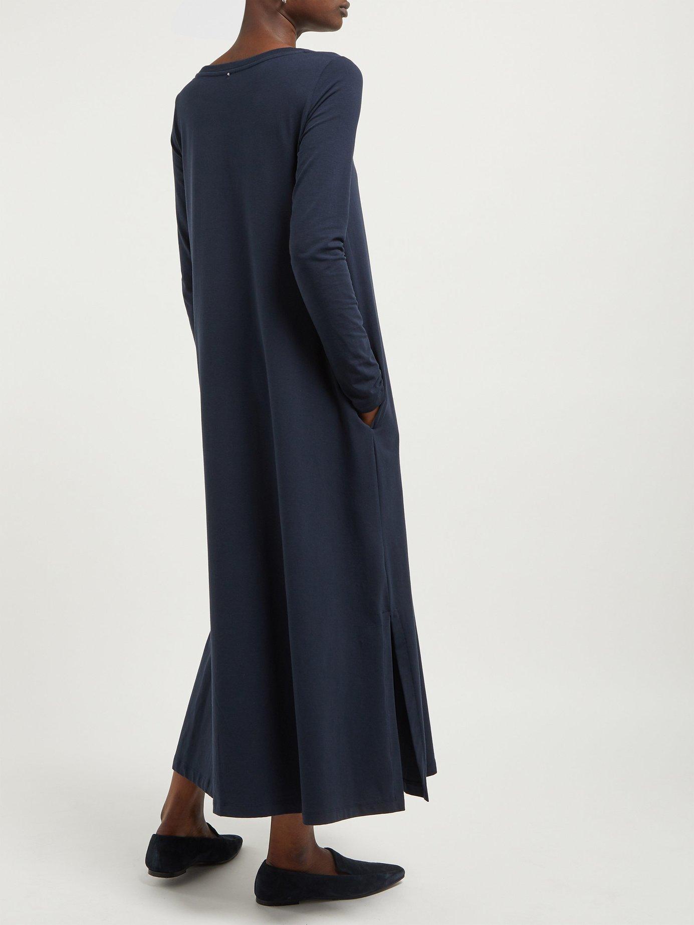 1414b151ef Max Mara Silva Dress in Blue - Lyst