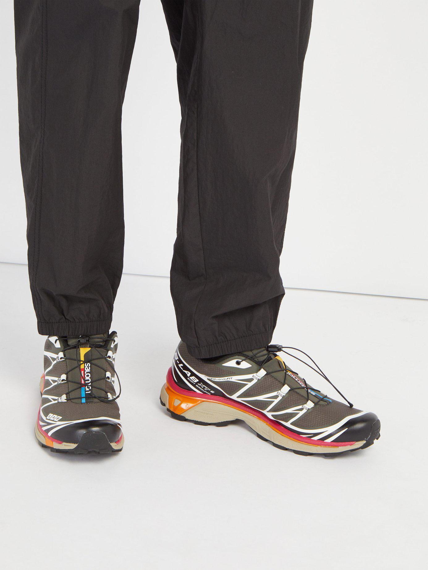 the best attitude dbdab 43470 ... canada yves salomon black s lab xt 6 softground adv trainers for men  lyst. view