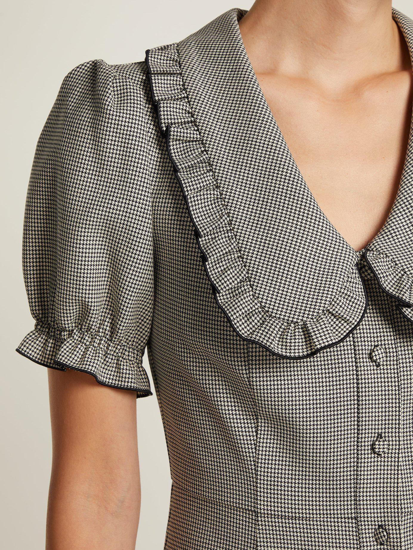 Lyst Alexachung Puritan Collar Babydoll Dress