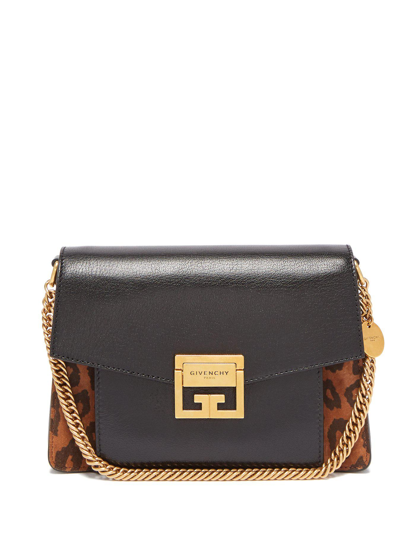 f615035927 Givenchy - Multicolor Gv3 Mini Suede And Leather Cross Body Bag - Lyst.  View fullscreen