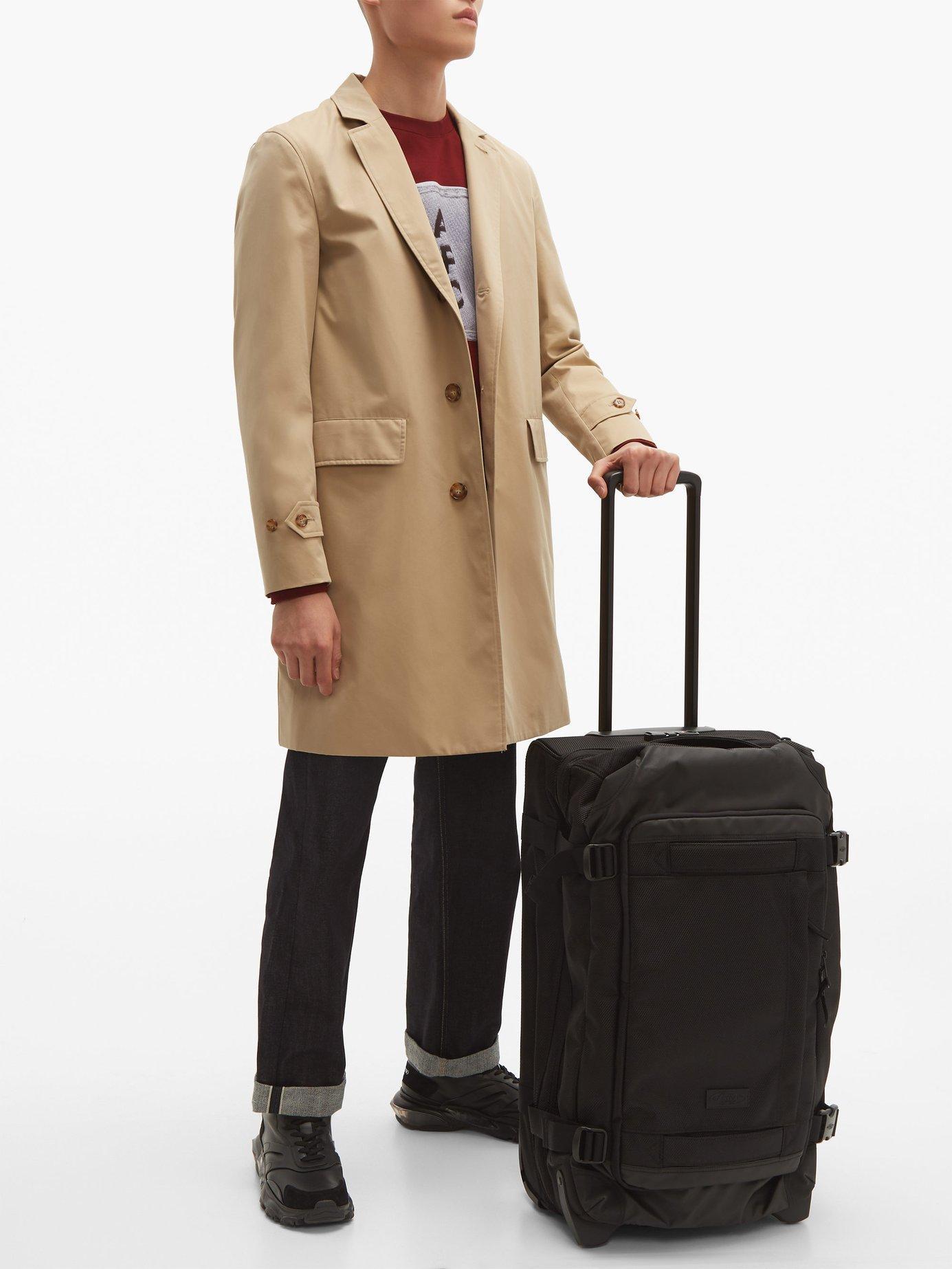 9072bbada Eastpak Tranverz Cnnct M Suitcase in Black for Men - Lyst