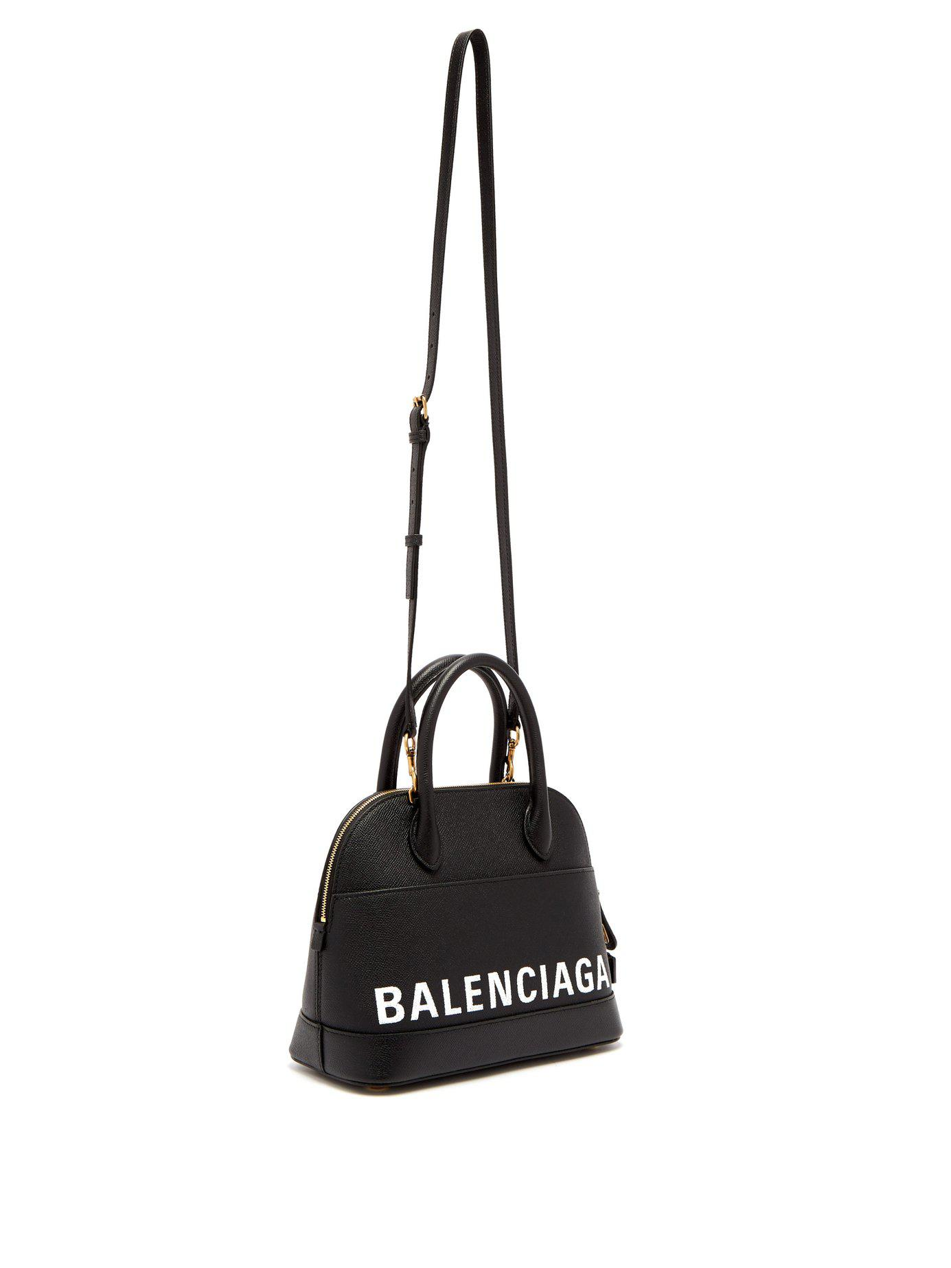5101a44f69 Balenciaga Ville Top Handle S Bag in Black - Save 56% - Lyst