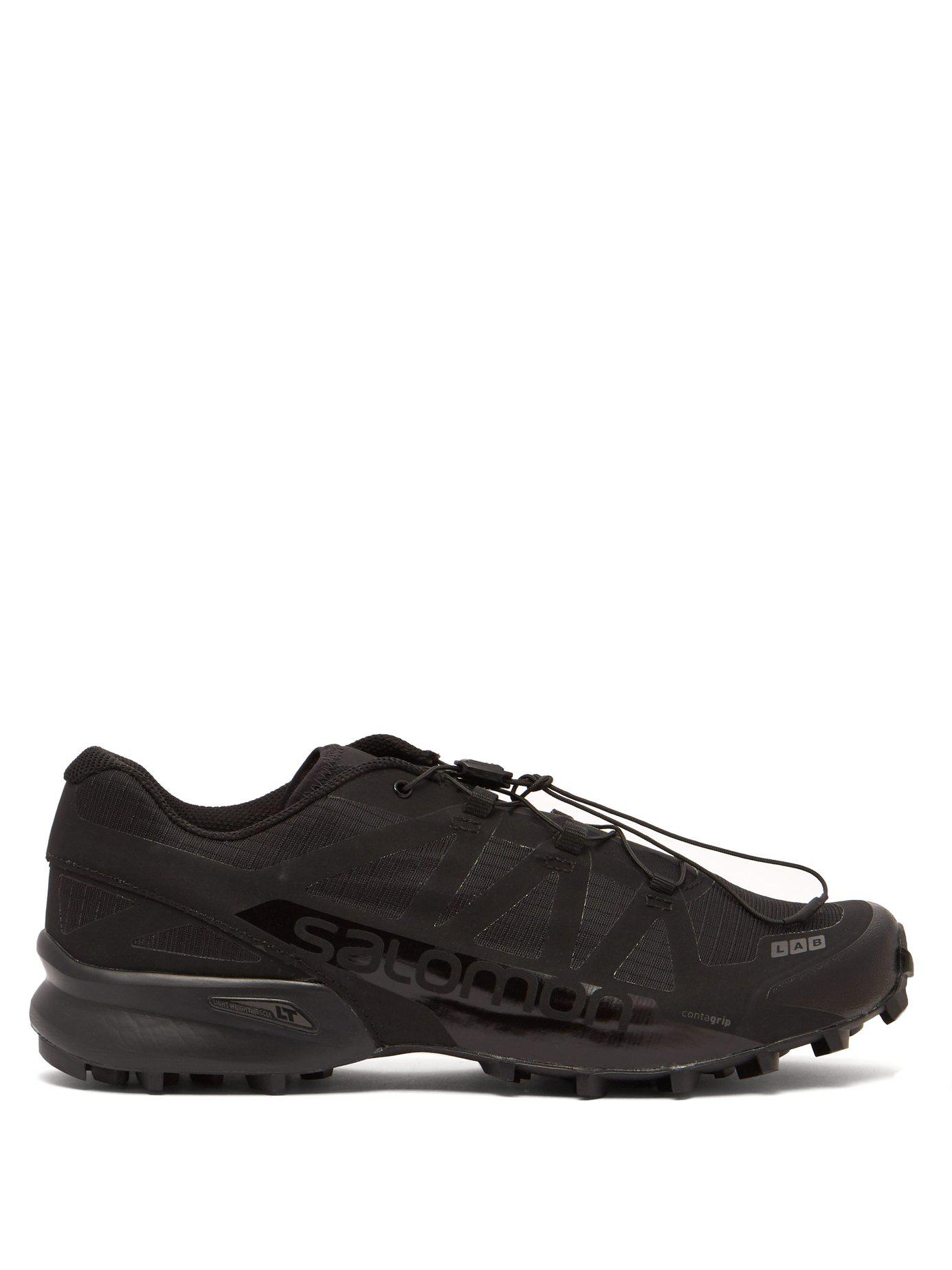 eb7b4b212e58 Lyst - Yves Salomon S lab Speedcross Ltd in Black for Men