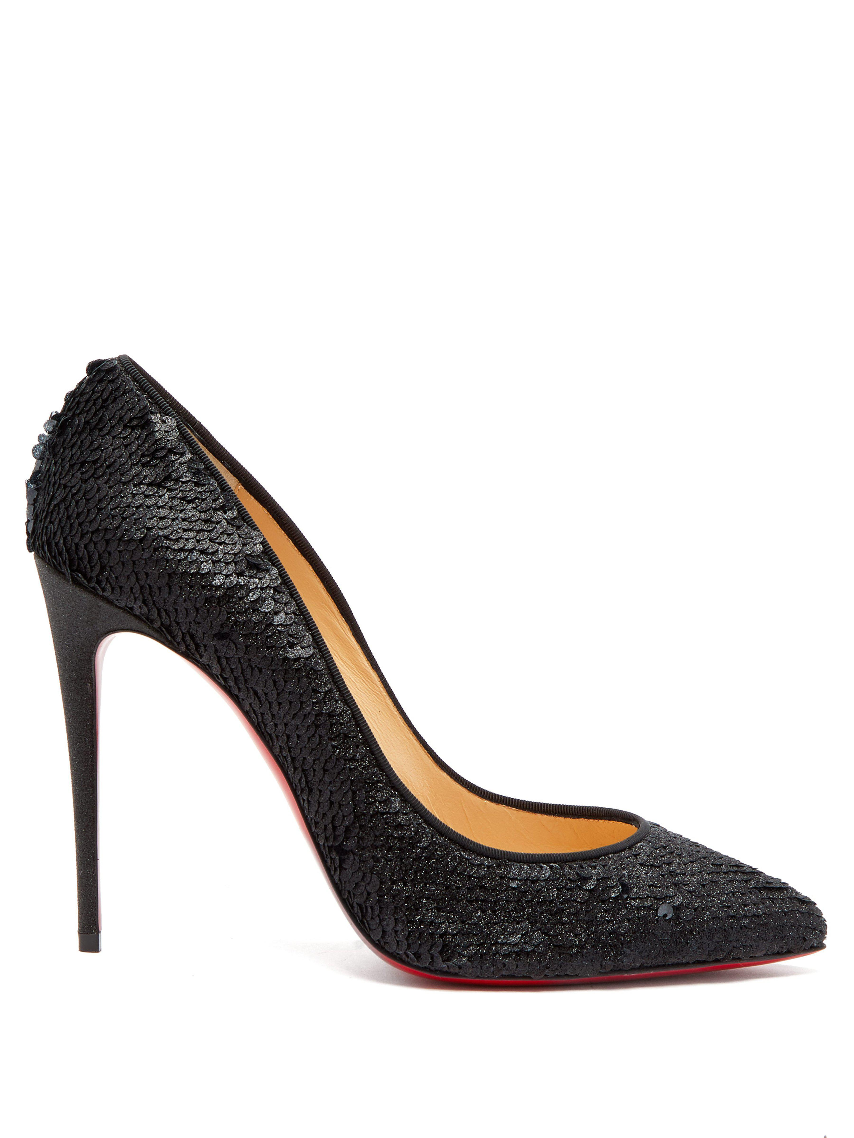 4b0b24f9af4 Christian Louboutin Pigalle Follies 100 Sequin Embellished Pumps in ...
