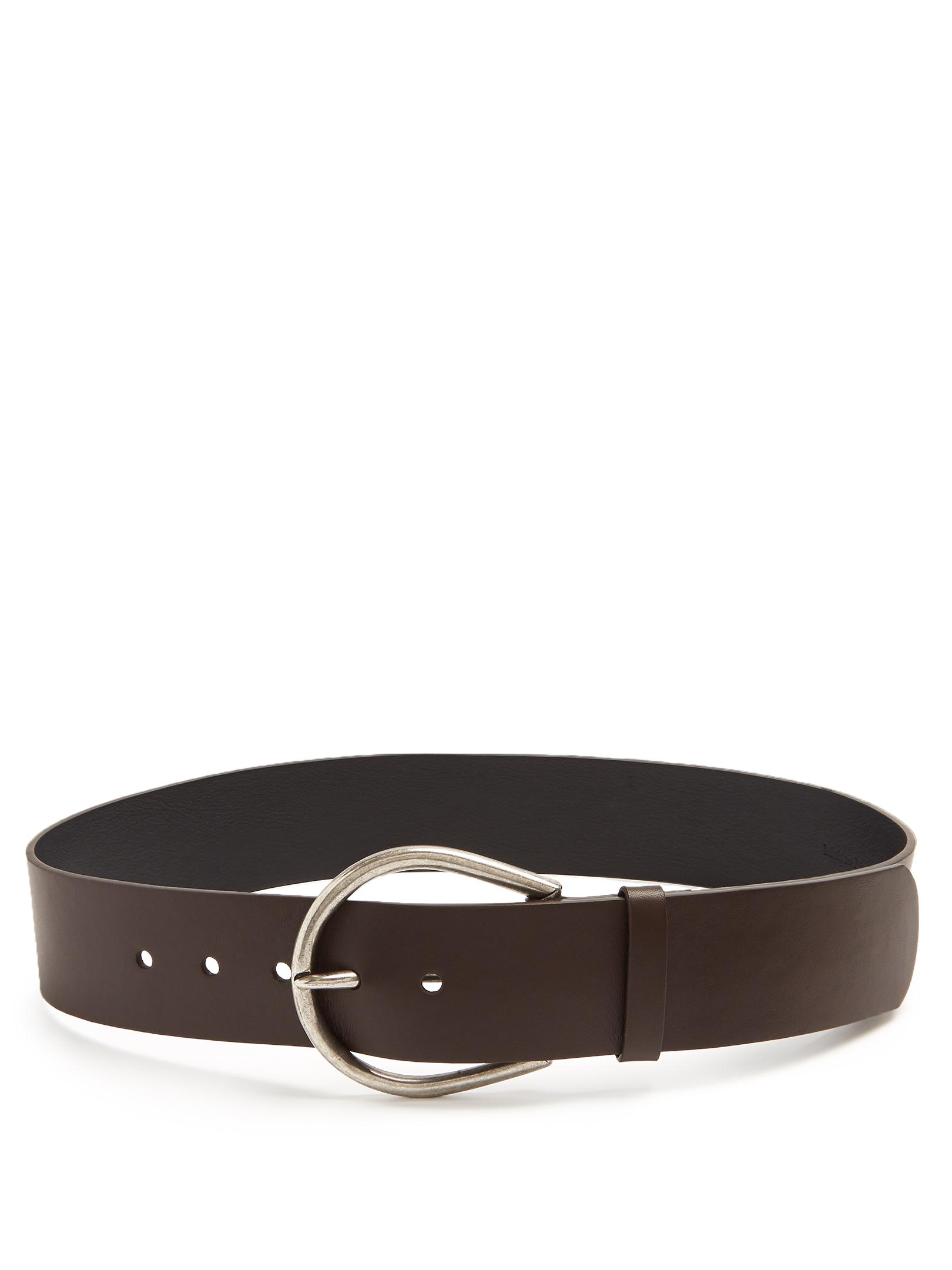 Self-tie leather belt Maison Martin Margiela